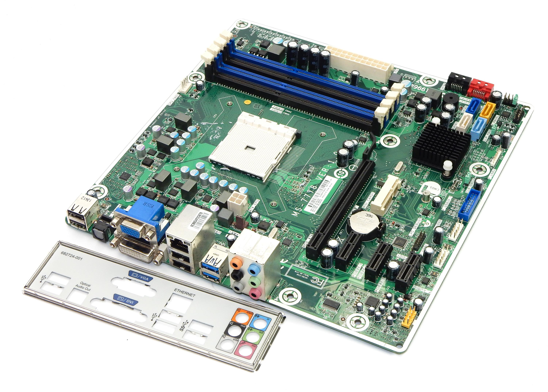 HP 716188-001 AMD Socket FM2 Motherboard MS-7778 Ver 1.0