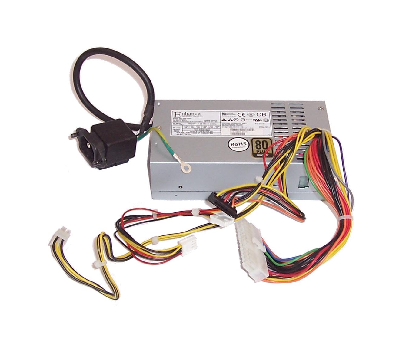 Enhance ENP-7025C 250W 24-Pin Mini-ITX Power Supply For IEC C13 Socket