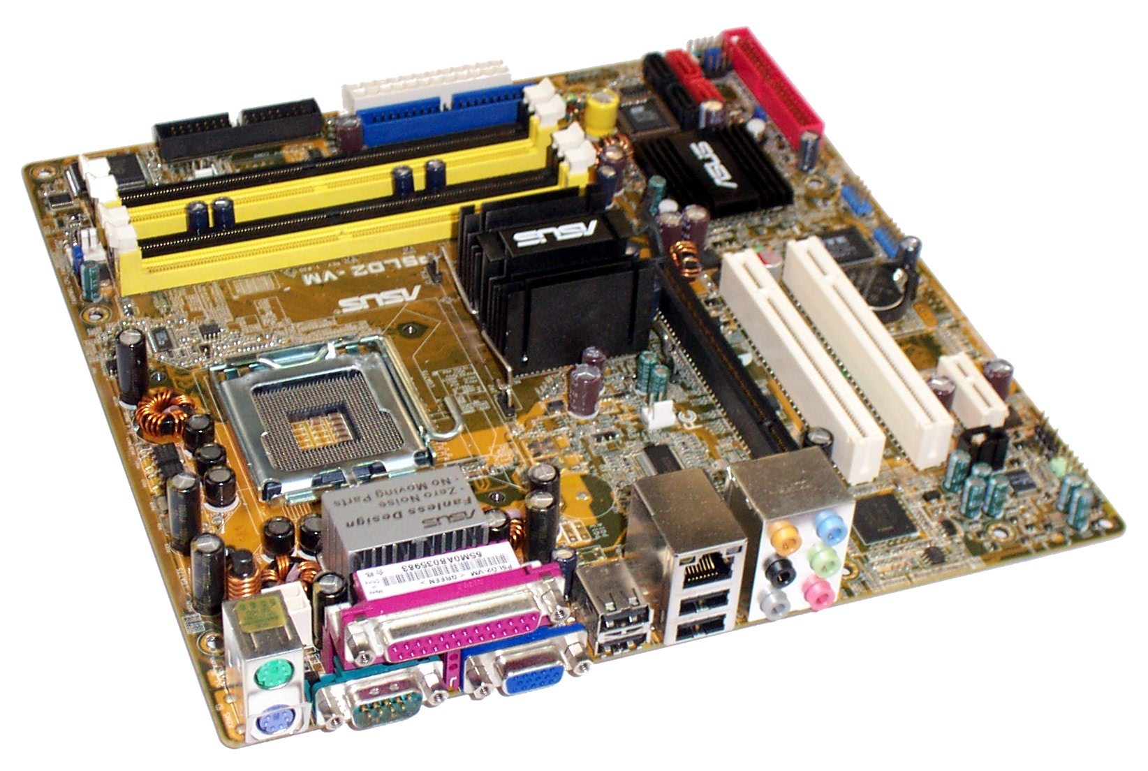 Asus P5LD2-VM/S Rev. 3.00G Socket 775 Motherboard