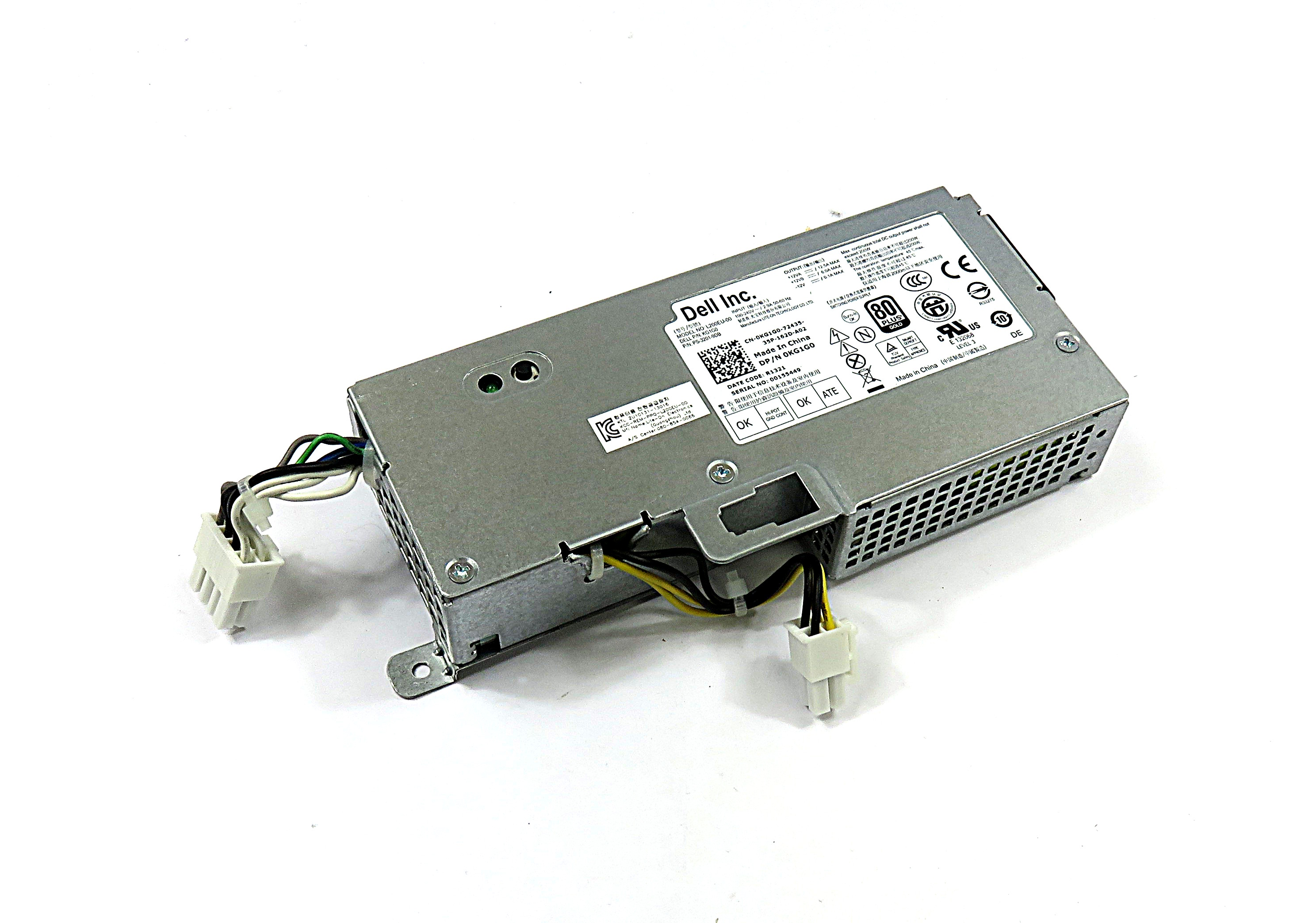 Dell KG1G0 200W Power Supply For OptiPlex 9010 USFF Desktop Computer