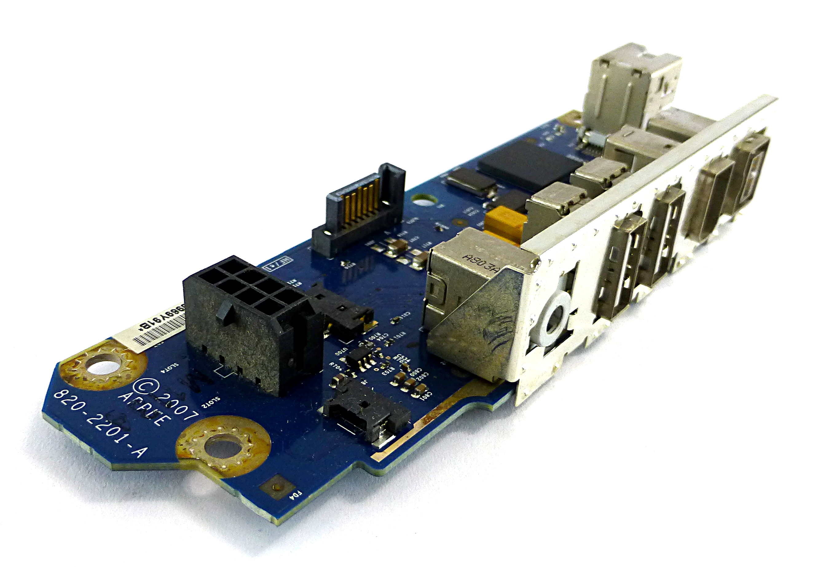 820-2201-A Apple Front I/O Board for MacPro A1186 (EMC 2180) (Early 2008)
