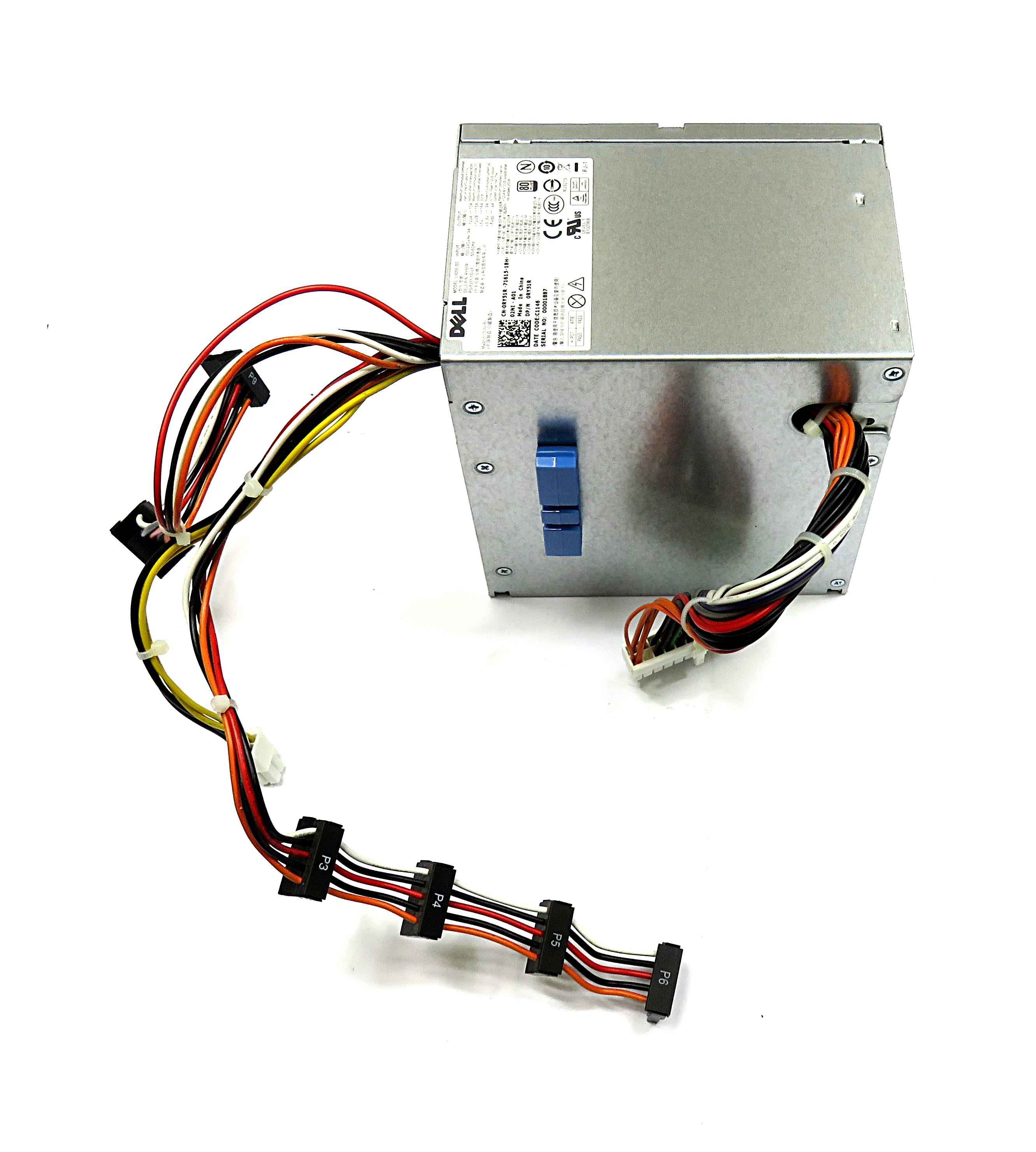 RY51R Dell 305W 24-pin ATX PSU f/ PowerEdge T110- PS-5311-1D-LF