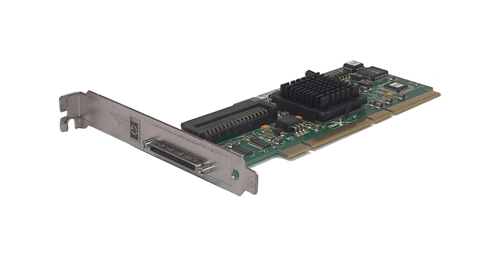 HP 399480-001 PCI-X133 Ultra 320 SCSI Card- Standard Profile- SPS: 403051-001
