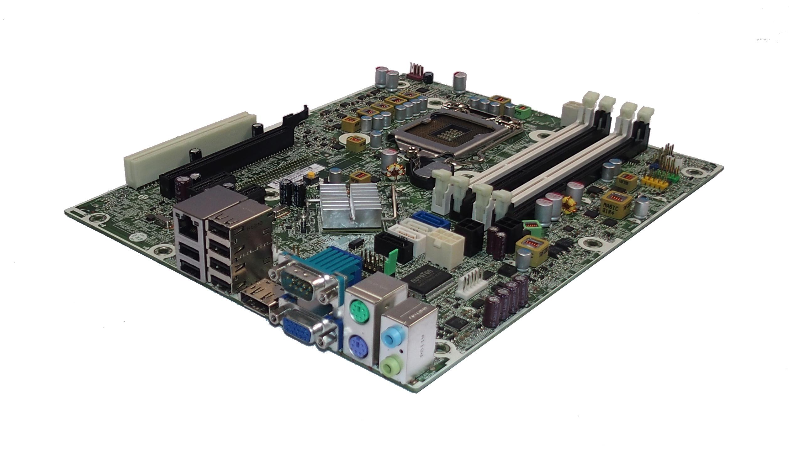 HP Compaq 614036-003 6200 Pro SFF Socket LGA 1155 Motherboard- 615114-001