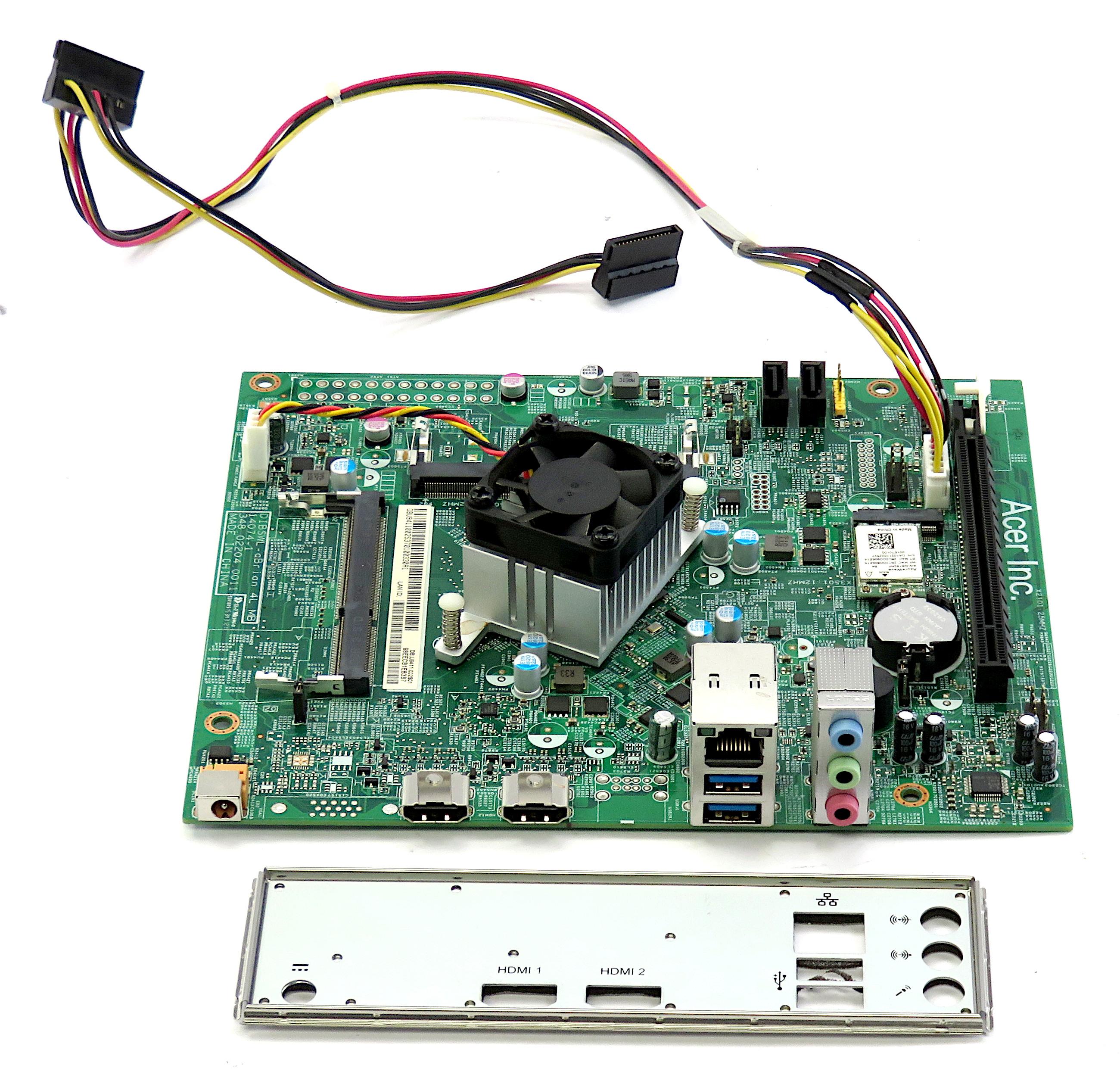 DB.U9411.002 Acer Motherboard /w BGA1170 1.6GHz N3700 CPU (SR2A7)