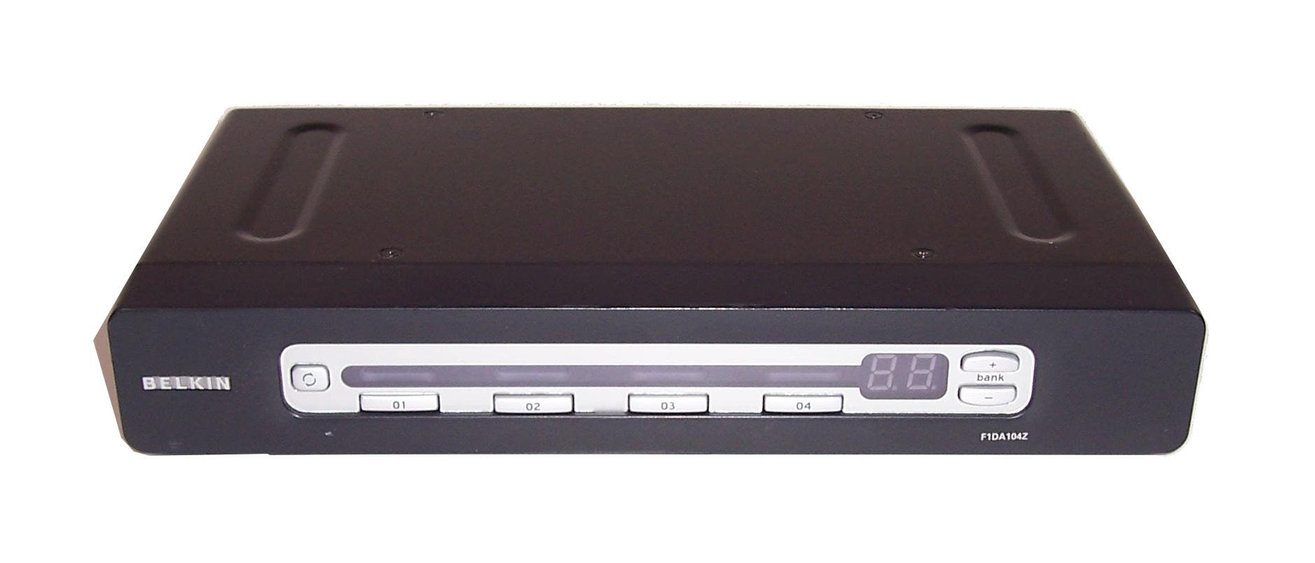 belkin 4 port kvm switch manual