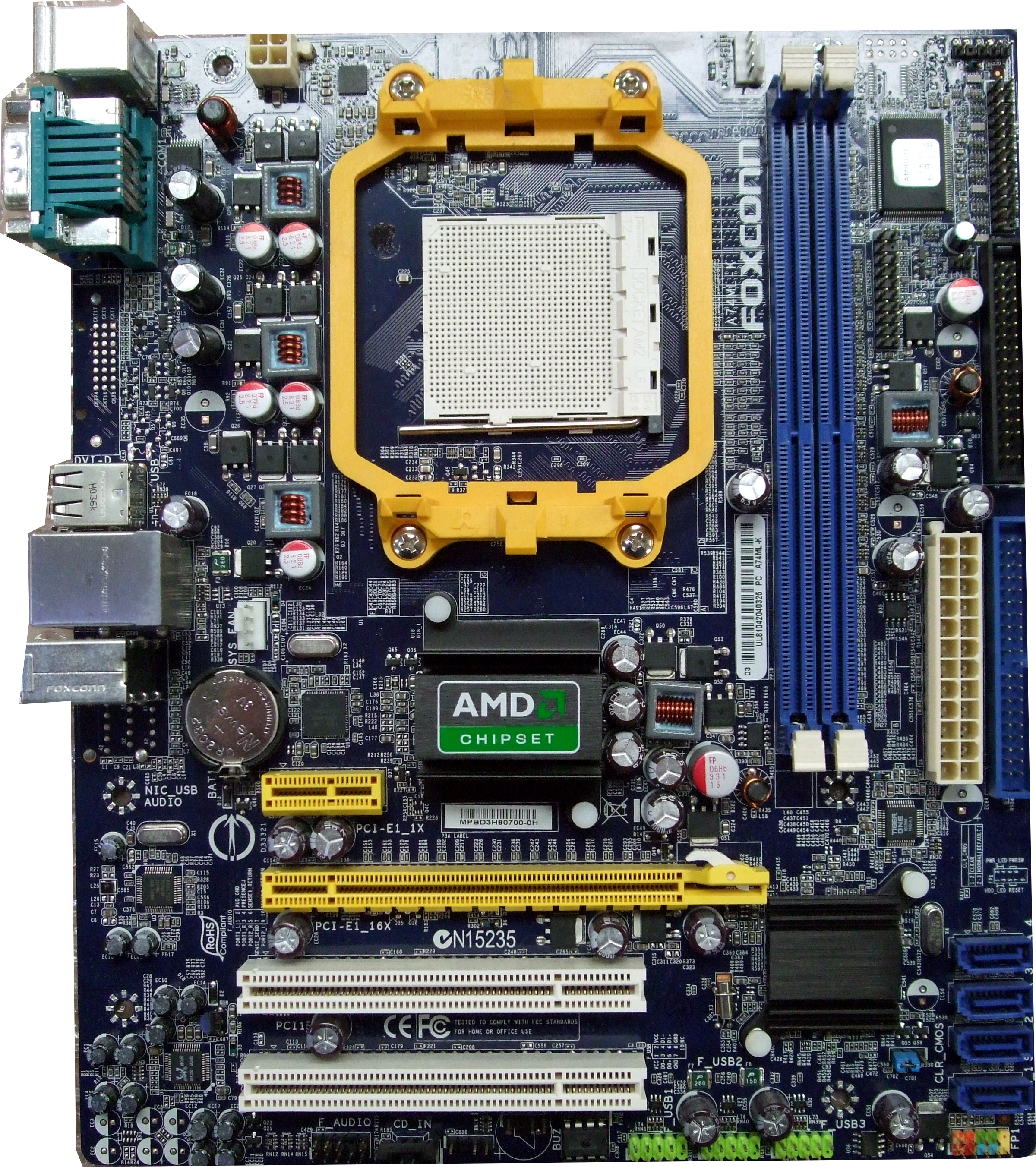 DOWNLOAD DRIVERS: FOXCONN MOTHERBOARD A74ML-K