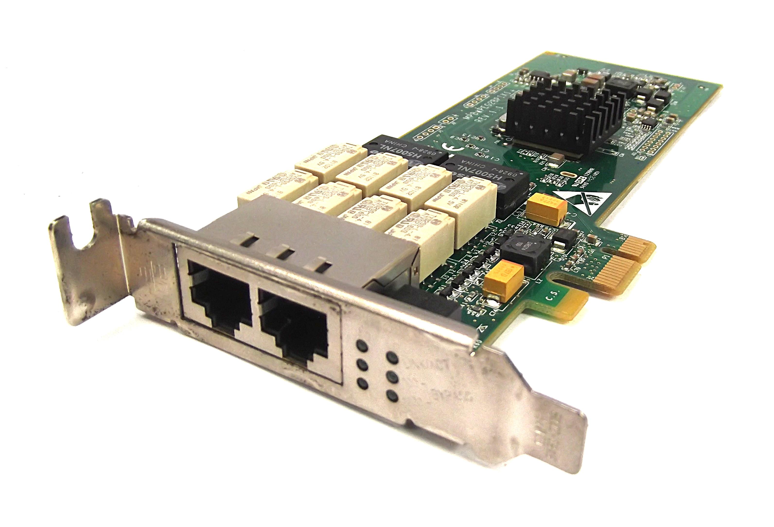 Silicom PEG2BPIX1-CS-RoHS Dual Port PCIe Gigabit Ethernet Adapter - Low Profile