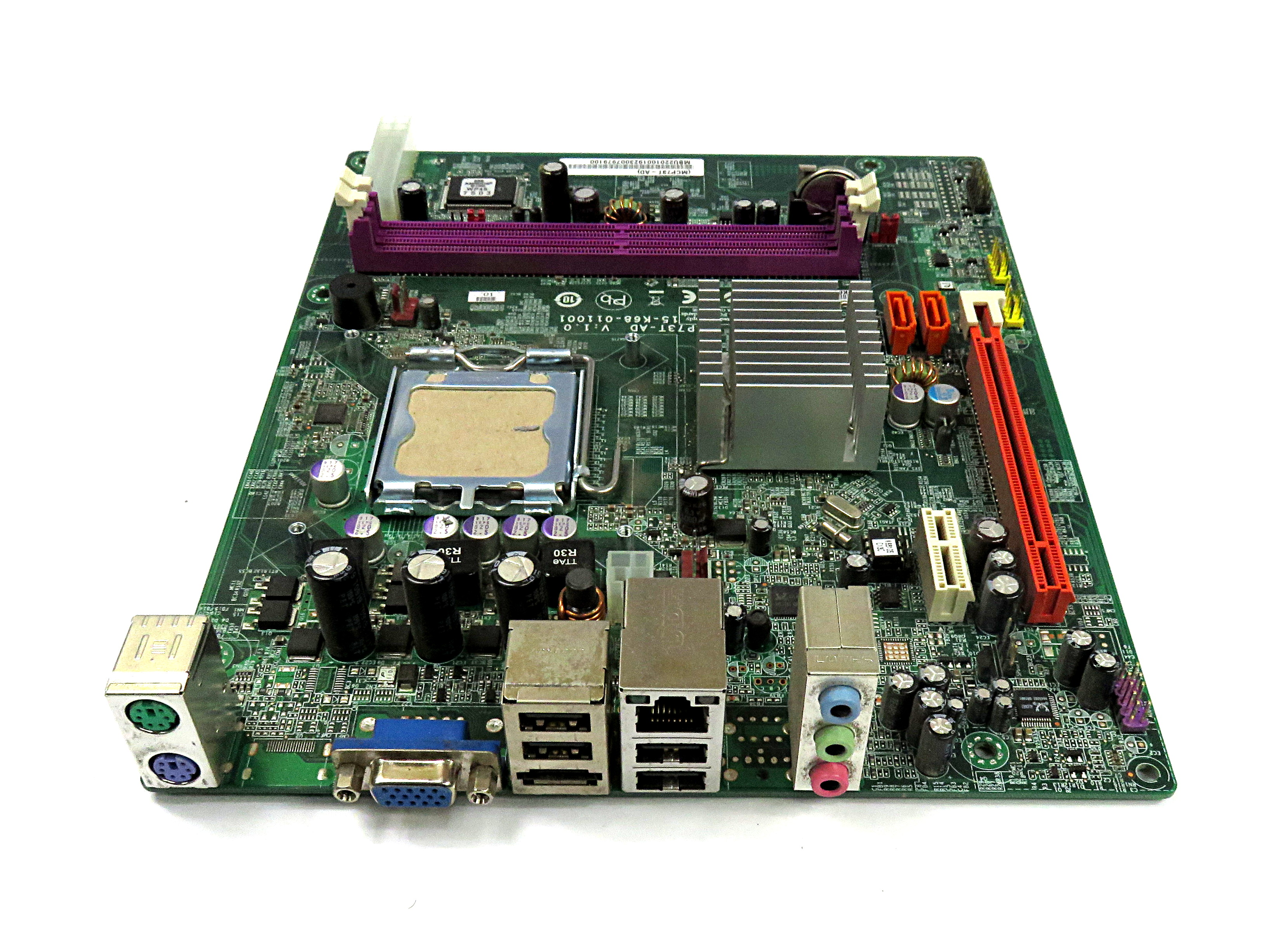 MB.U2201.001 Socket 775 Motherboard MCP73T-AD V:1.0