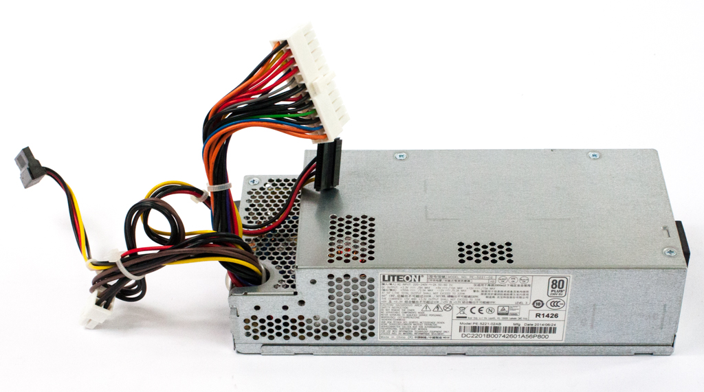 LiteON M/N: PE-5221-02AB 24-Pin 220W Small Form Factor PSU
