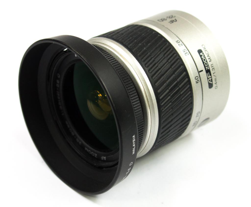 Minolta Lens AF Zoom 28-80mm 1:3.5(22)-5.6 D 0.4m/1.3ft Macro - Lens Only