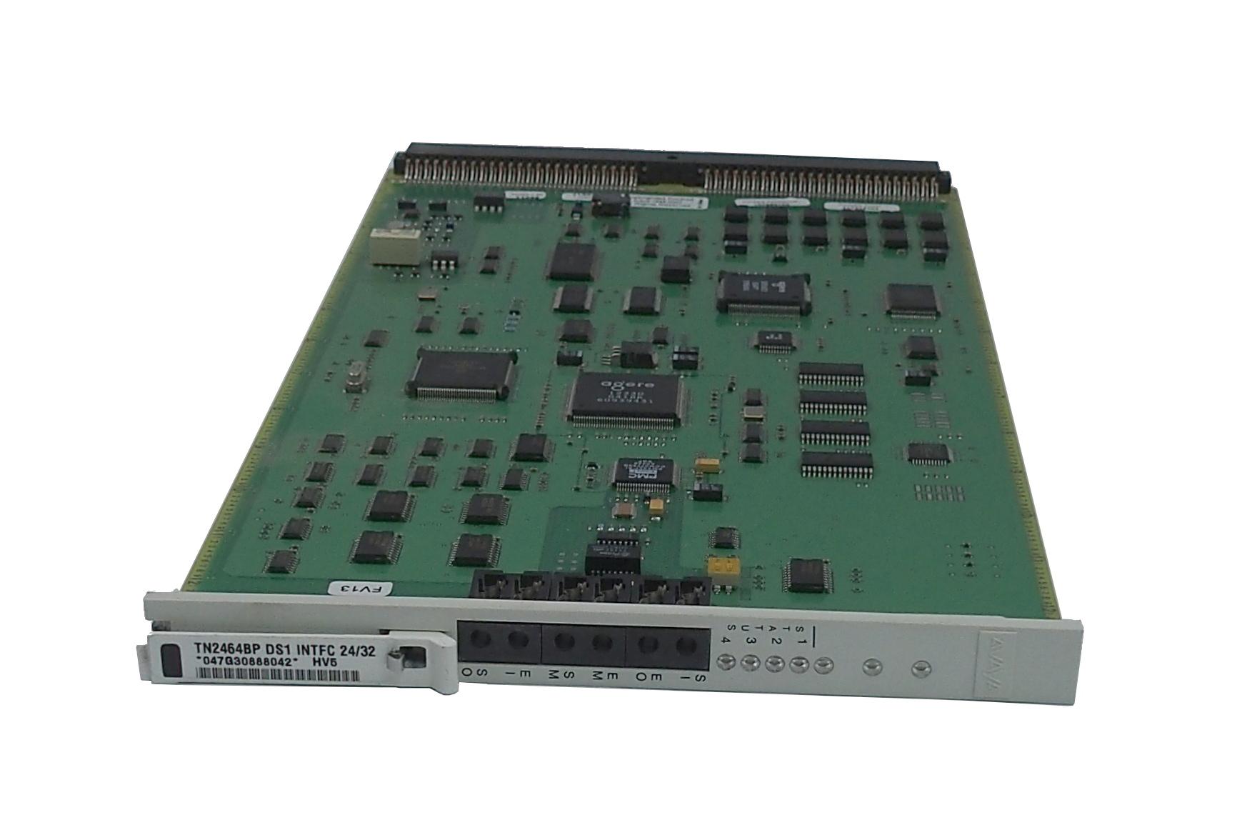 Avaya TN2464BP HV5 24/32 DS1 InterfaceCard