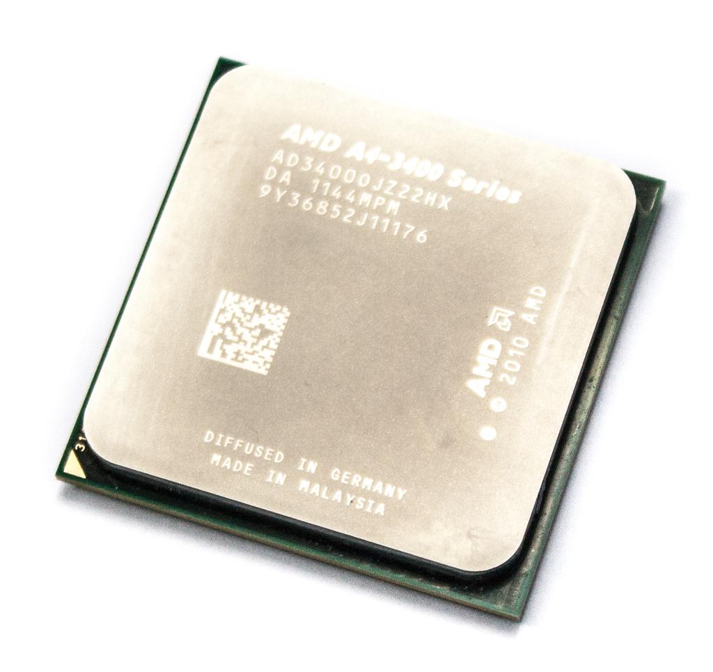 AMD AD3400OJZ22HX A4-3400 2.7GHz Socket FM1 APU /w Radeon HD6410D GPU