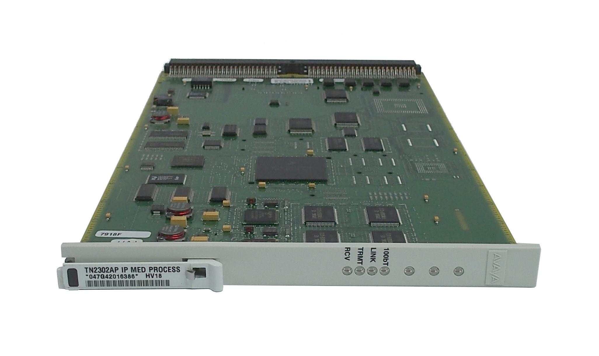Avaya TN2302AP HV18 IP Media Processor Card For G650 Media Gateway