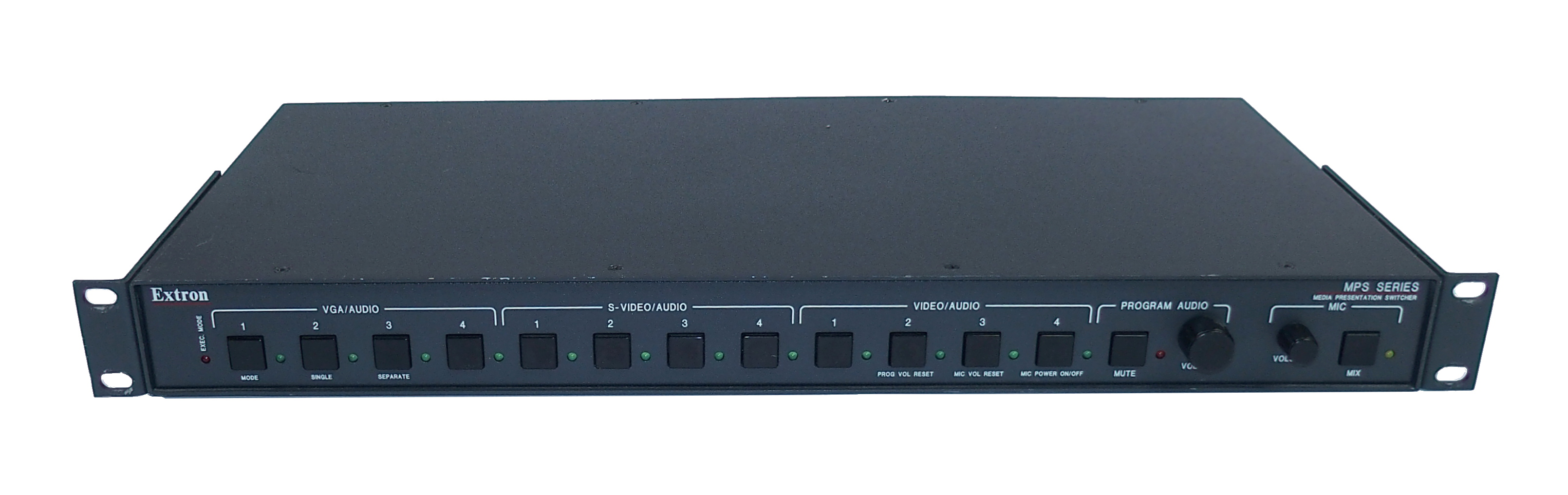 Extron MPS 112 Media Presentation Switcher With Rack Mount Ears