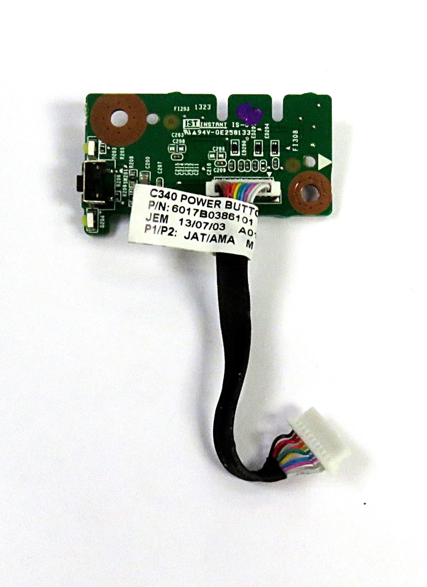 Lenovo 1310A2567501 Power Button + Cable f/ C440 AiO PC