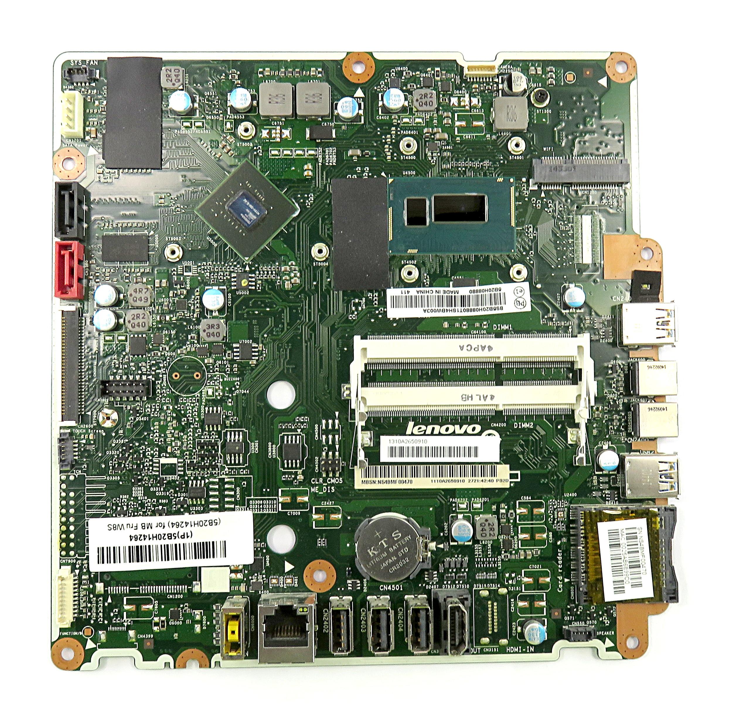 Lenovo 5B20H14264 Motherboard 1310A2650910 f/ C40-30 AiO PC w/ Pentium 3558U CPU