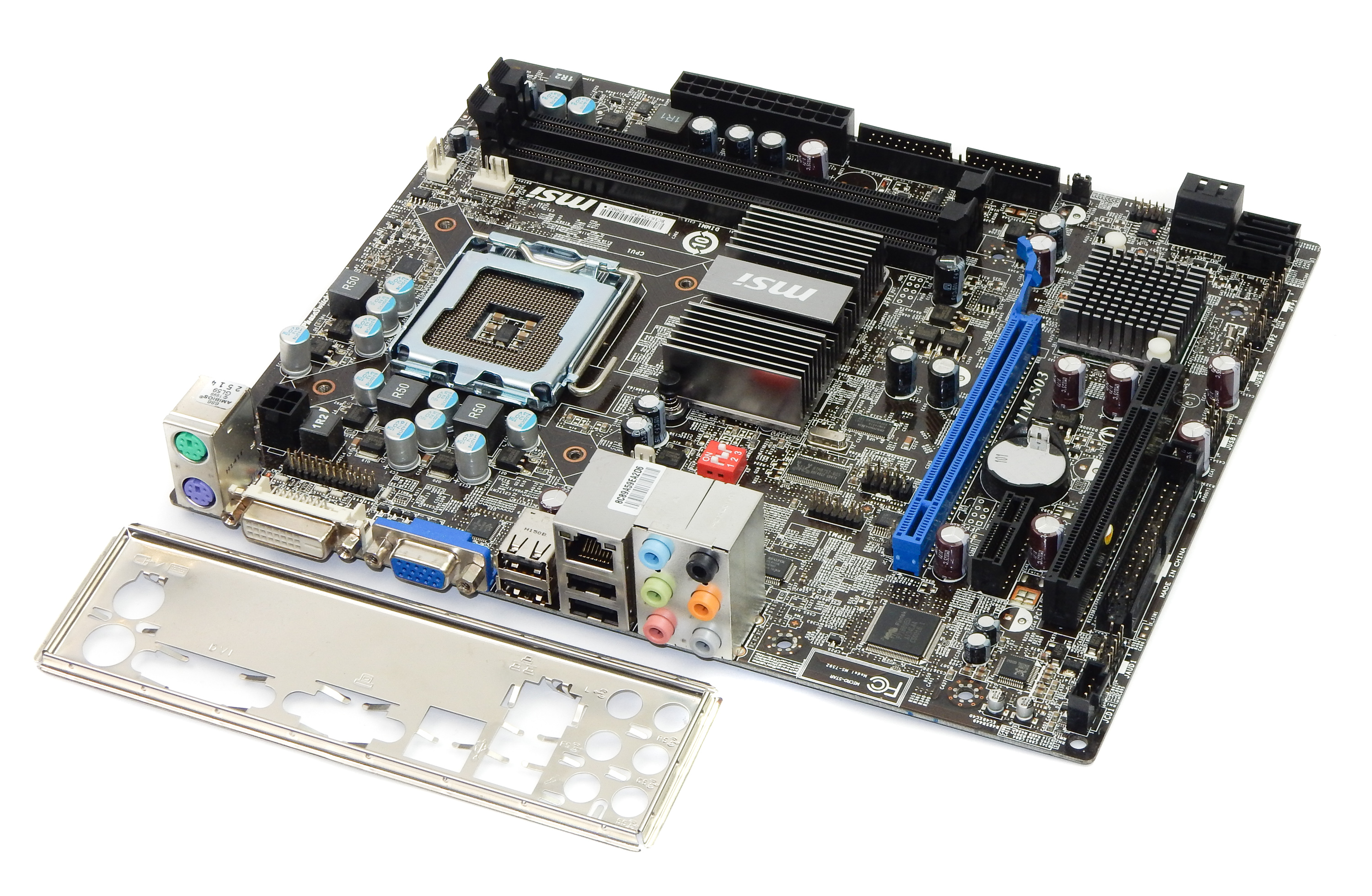 MSI G41M-S03 Socket Type LGA775 uATX Motherboard - MS-7592 Ver:6.0