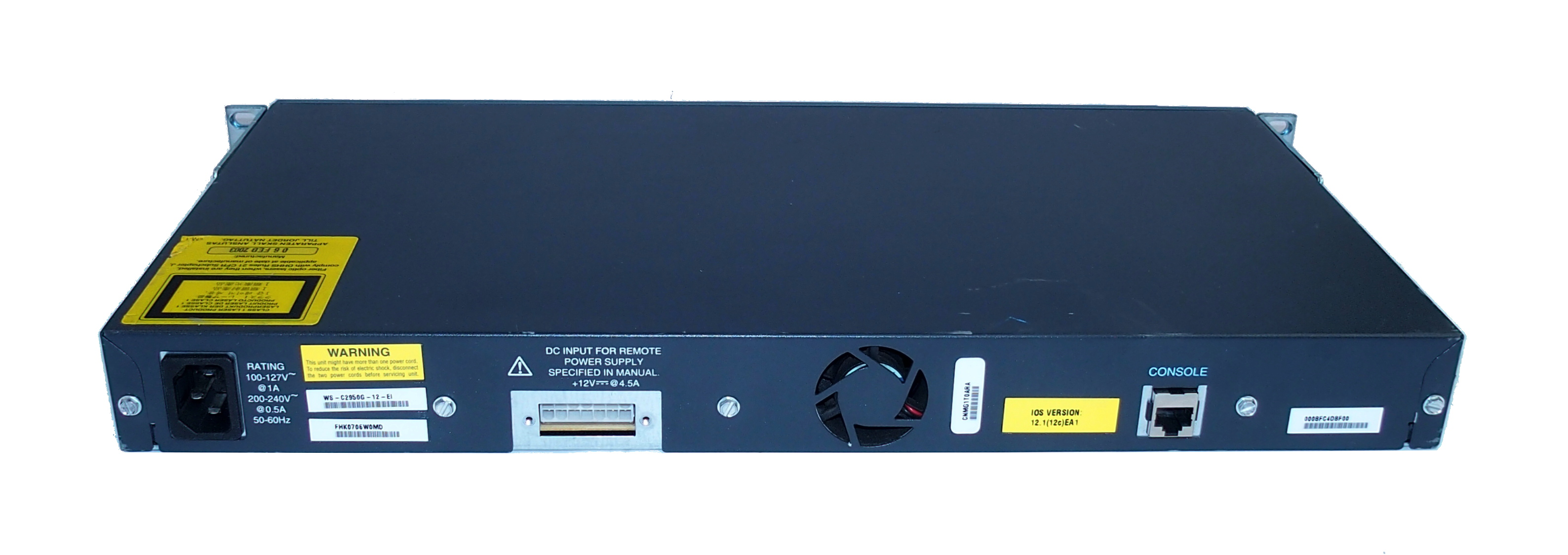 Cisco Ws C2950g 12 Ei Catalyst 2950 Port Switch With Rack Mount Out Of Stock