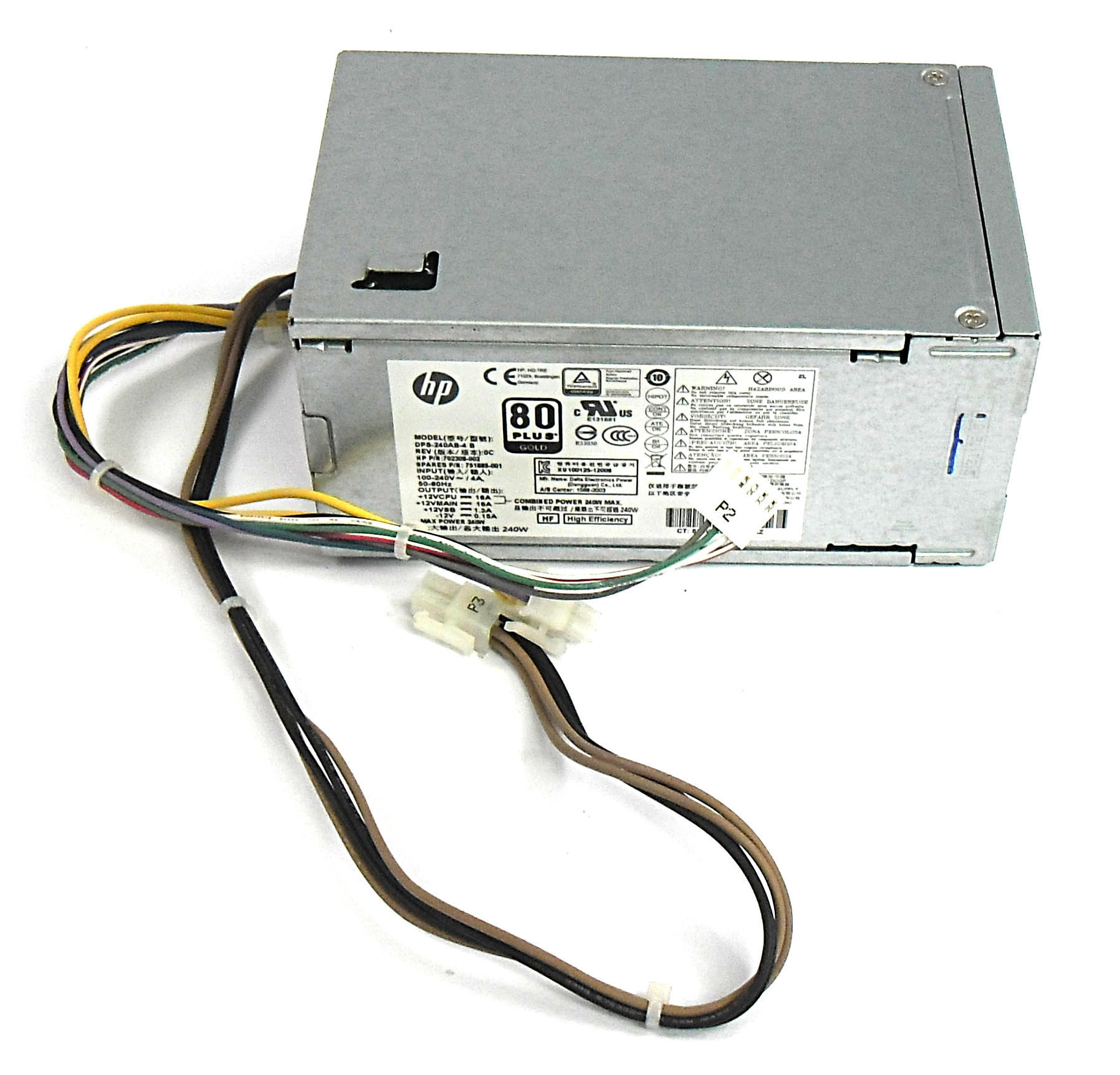 HP 751885-001 PS-4241-1HD 240W Power Supply - P/N: 702308-002