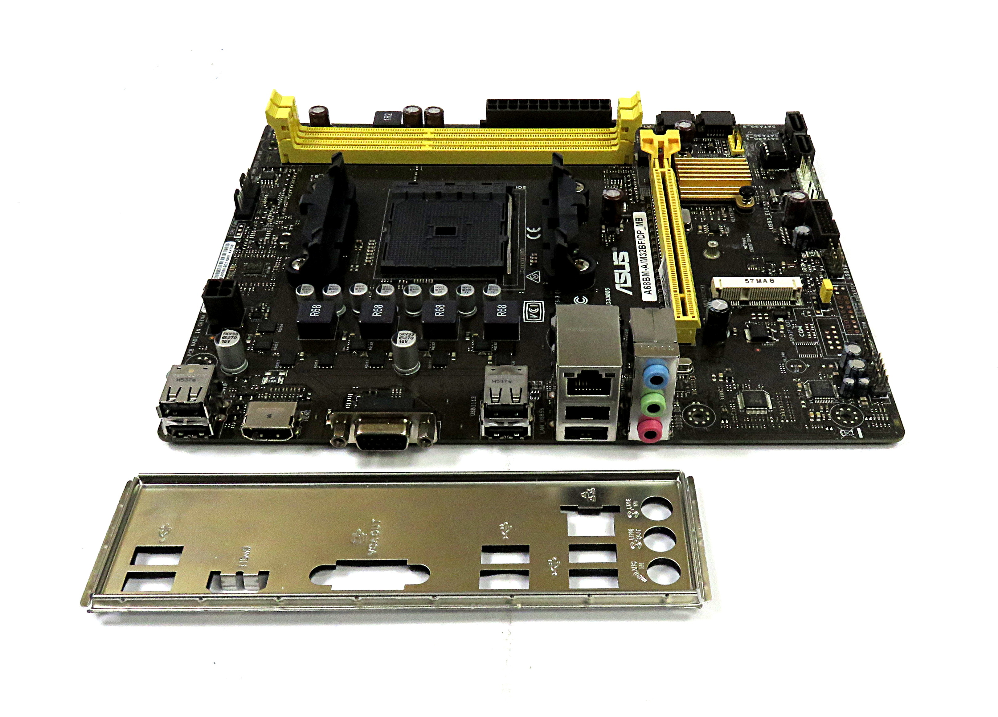 Asus M32bf Motherboard Photos Collections A68hm K Socket Fm2 Dp Mb Amd Matx 90pa07b0 M1xbn0 A68bm A