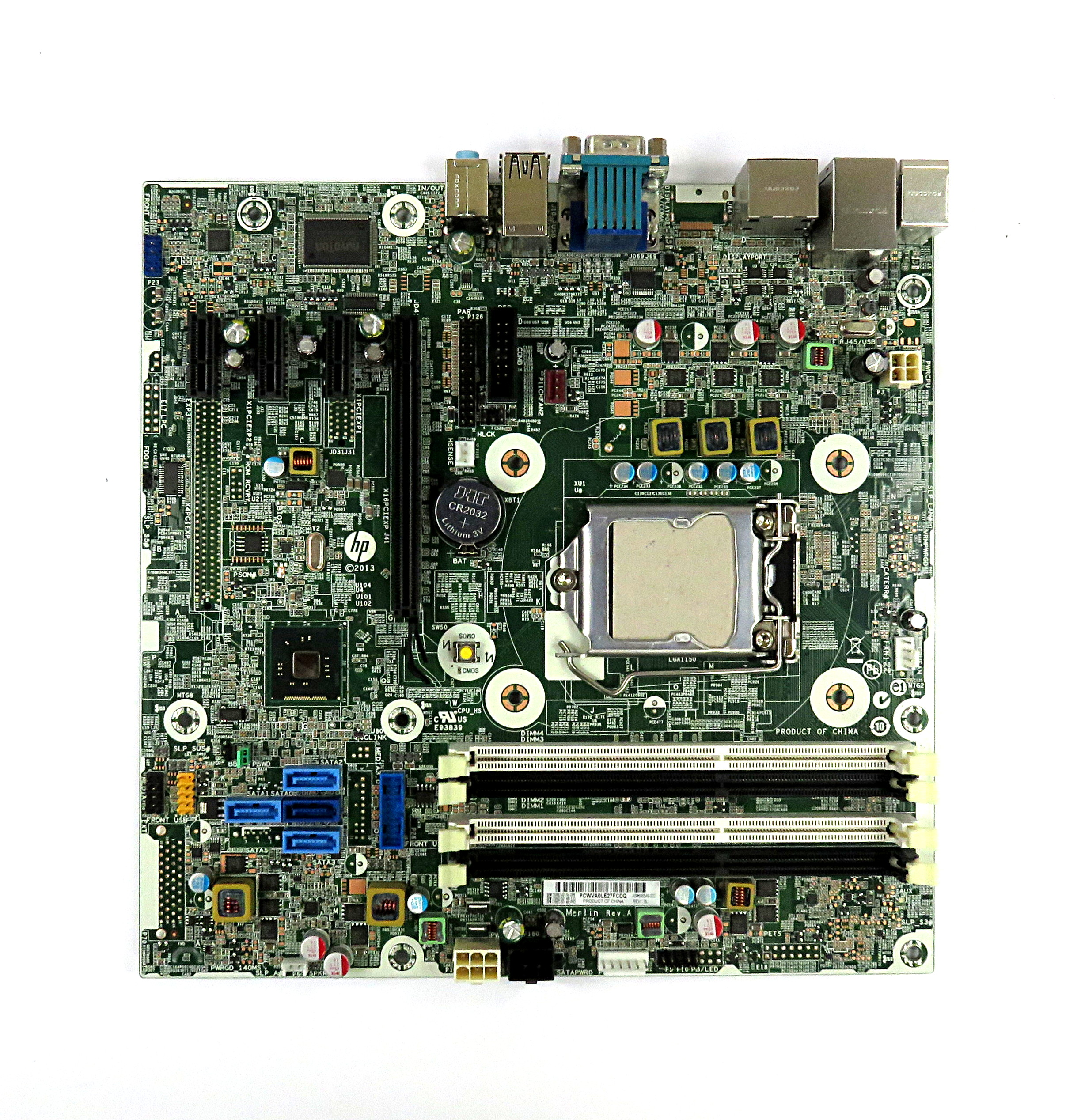 HP 696549-002 Socket LGA1150 Motherboard 739682-001 f/ ProDesk 600 G1 SFF PC