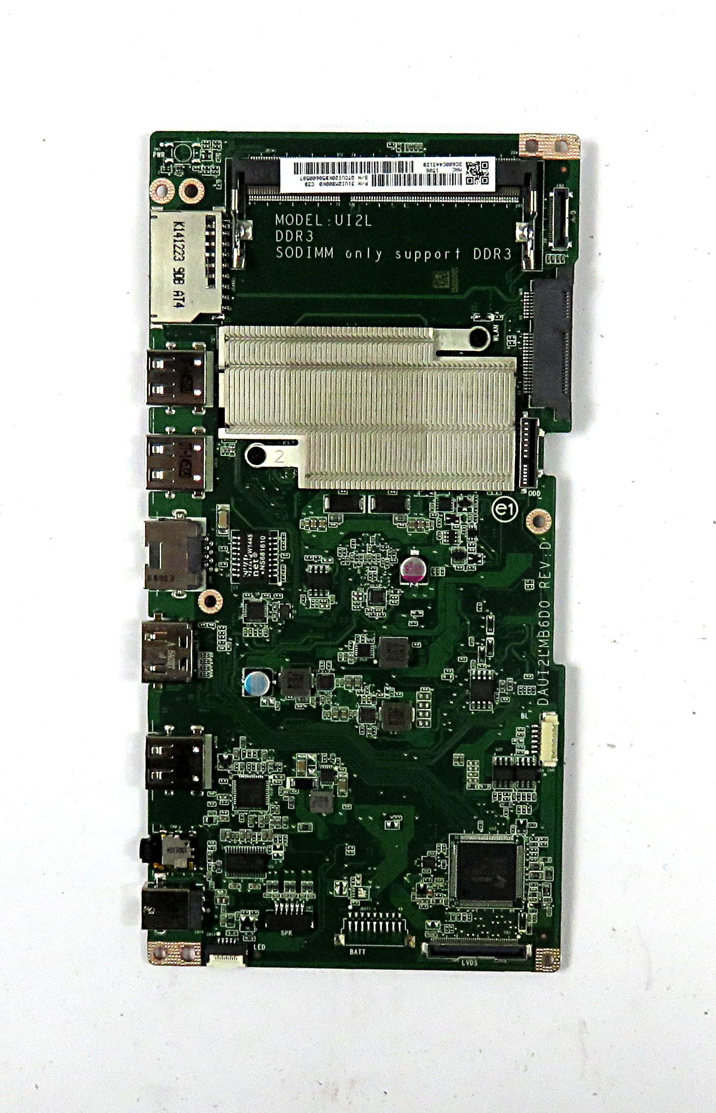 Acer DB.SYH11.002 Motherboard  Model:UI2L f/ Aspire Z1-621 w/ N3540 CPU
