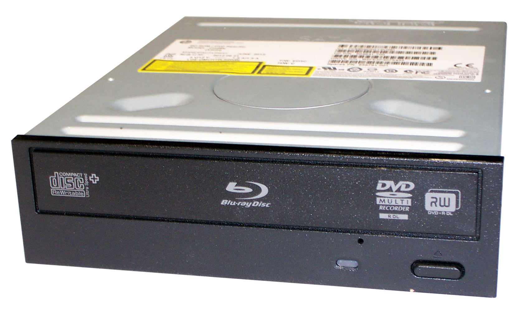 HP 504941-700 BD-ROM DVD Rewriter SATA Black Bezel Optical Drive - CH28N