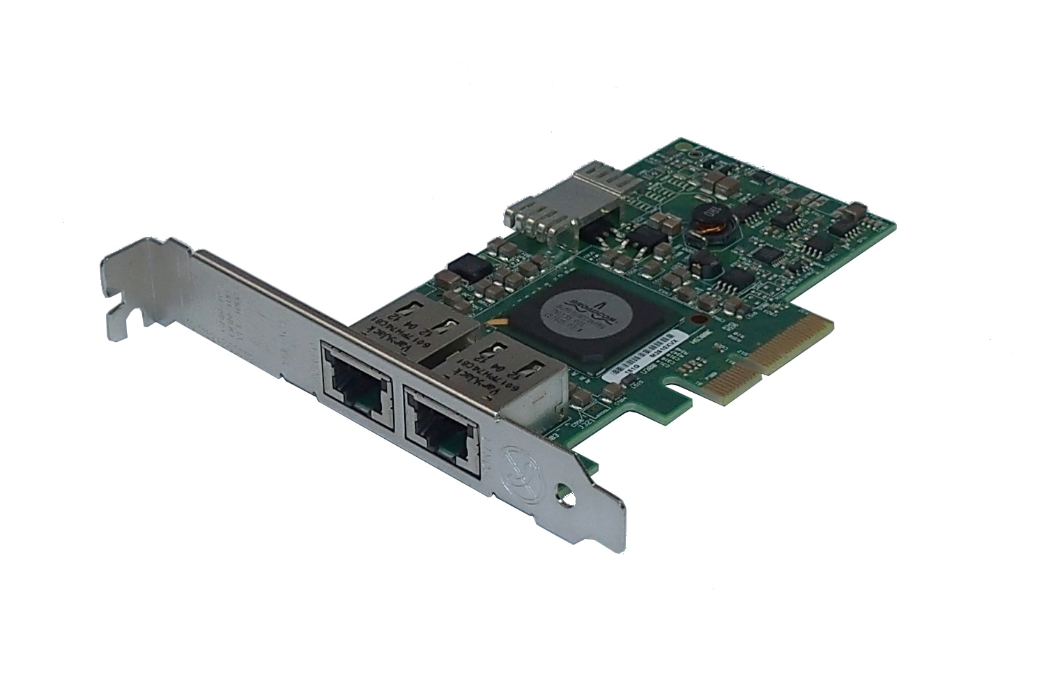 Dell F169G PCI-e Dual-Port Gigabit Network Interface Card
