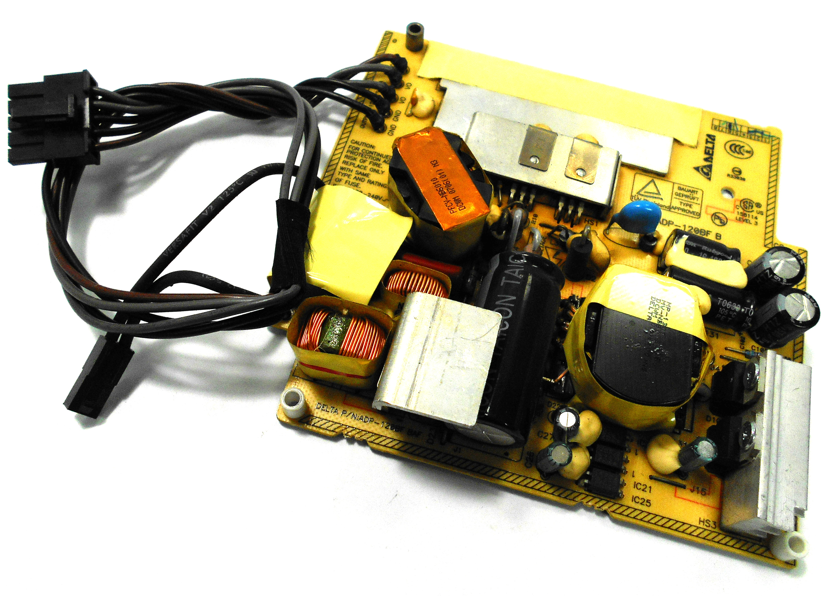 "614-0381 Apple 120W PSU f/ iMac 17"" A1195 (EMC 2124)  - DELTA ADP-120BF B"