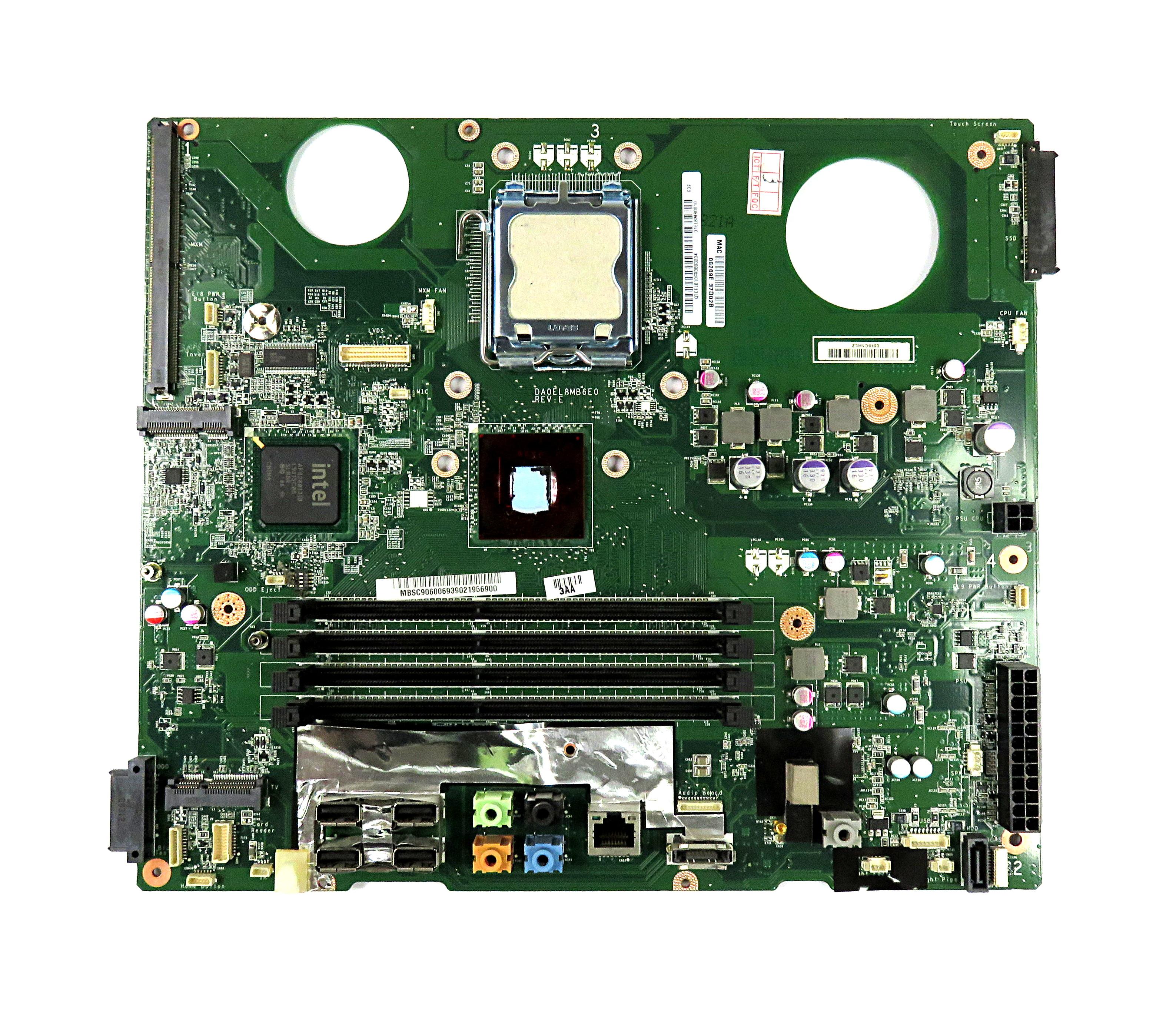 DA0EL8MB6F0 Rev:F MB.SC906.006 Acer Aspire Z5610 AiO Motherboard