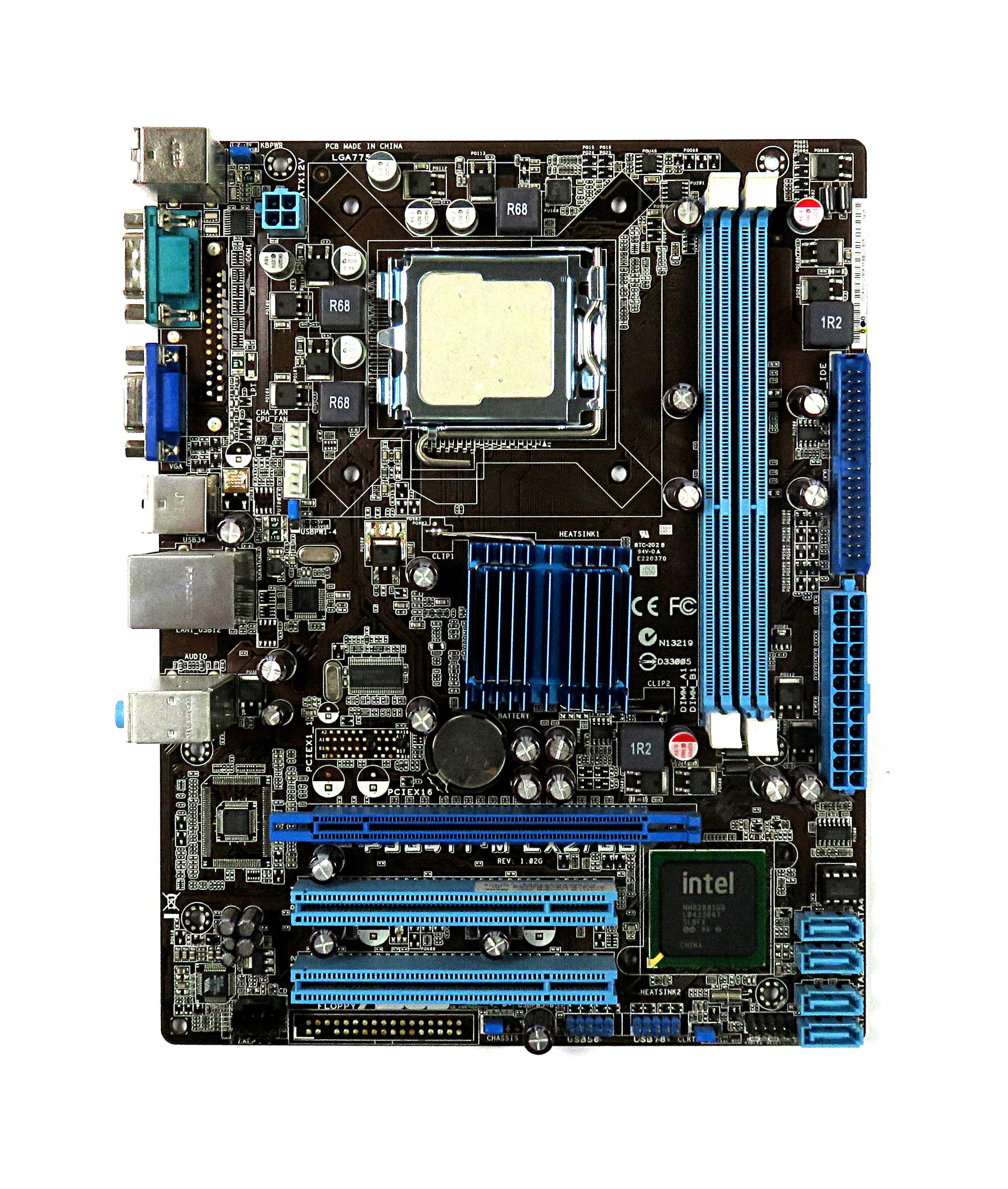 Asus P5G41T-M LX2/GB Intel Socket LGA775 mATX Motherboard