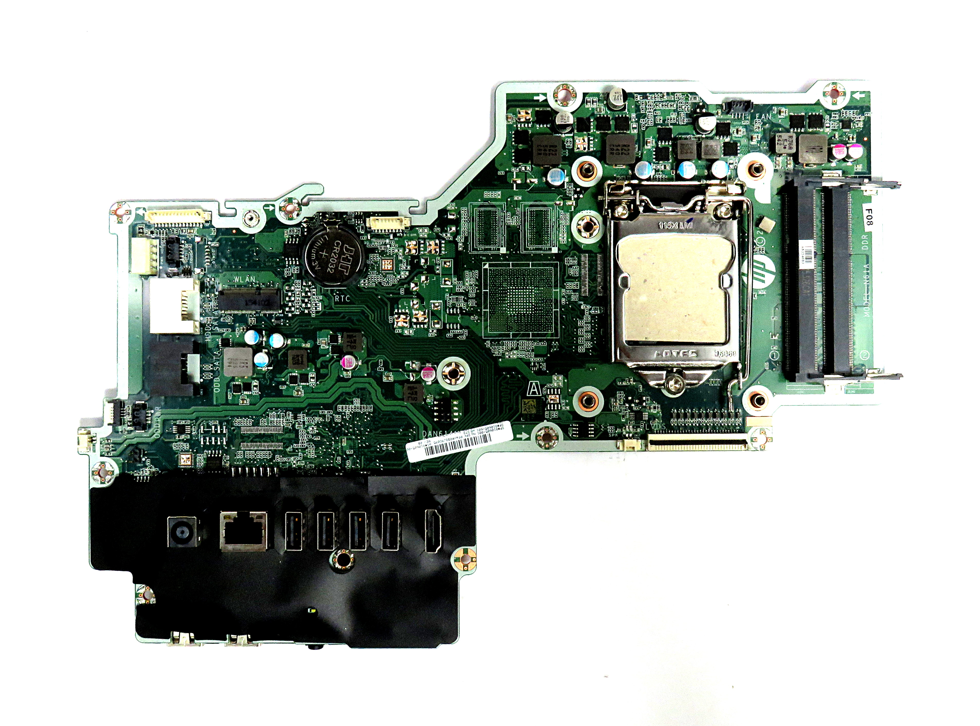 HP N61A Socket 1151 Motherboard 810605-001 DAN61AMB6F0 f/ Pavilion 23 AiO PC