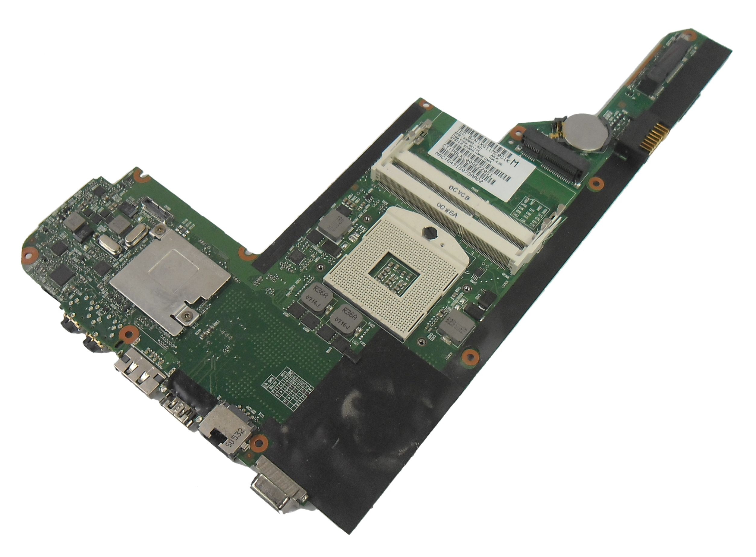 HP 633863-001 DM4 Notebook Motherboard