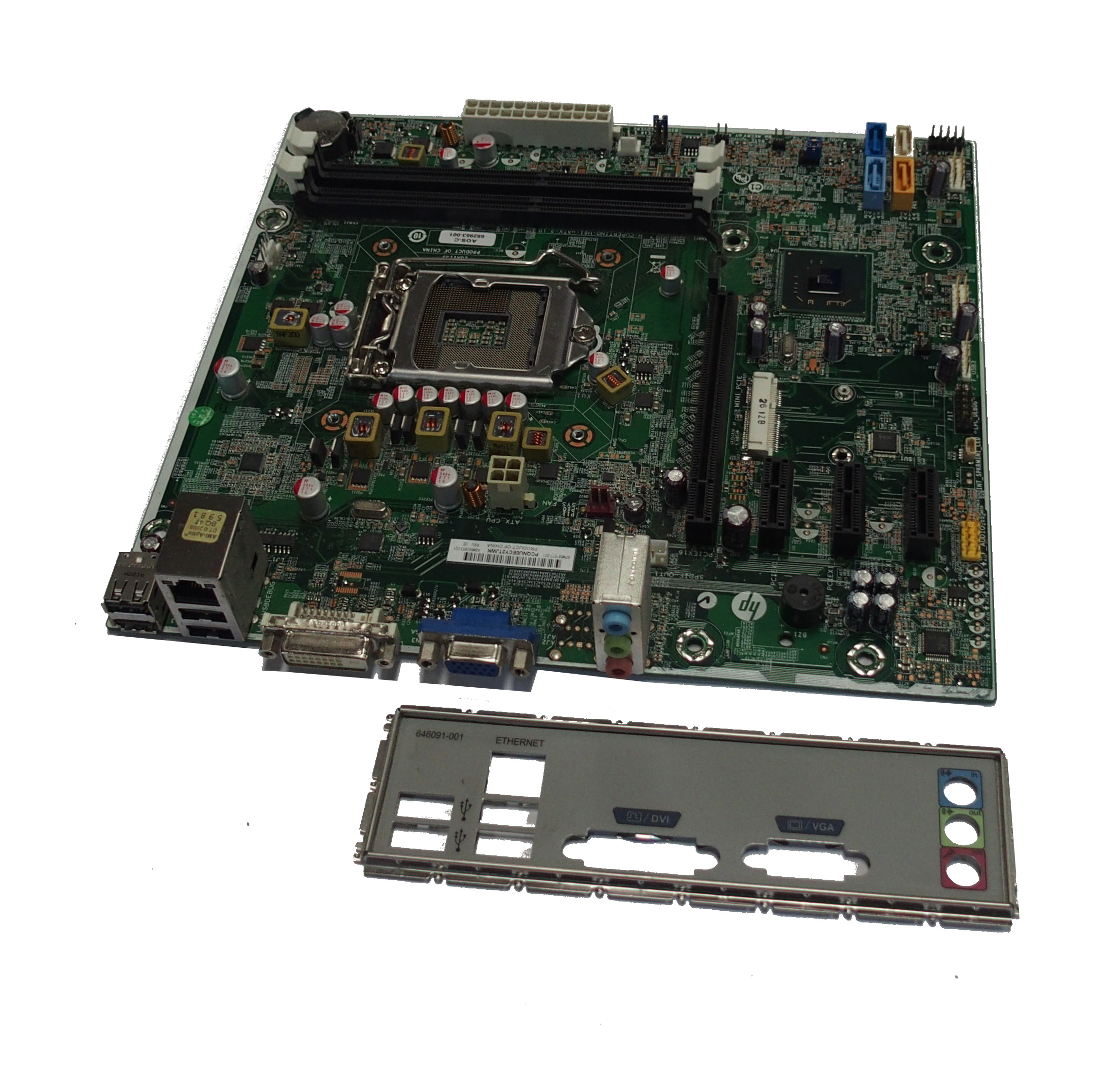 HP 682953-001 Pavilion P6-2065uk Socket 1155 Motherboard- SP: 687577-001