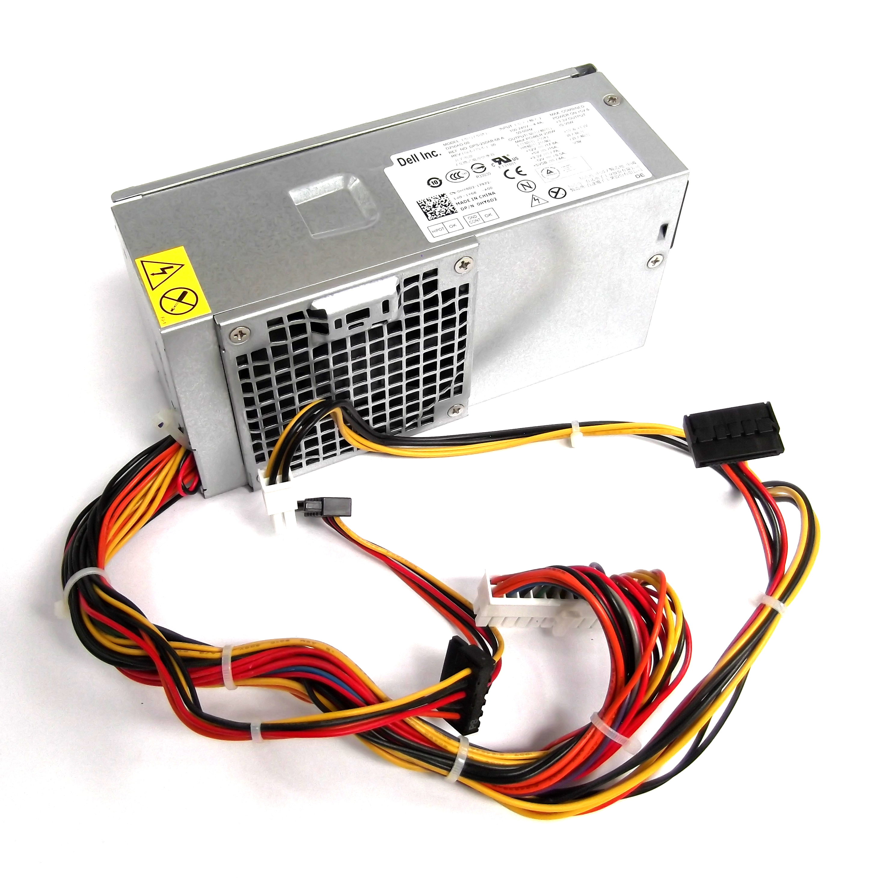 Dell HY6D2 DPS-250AB-68 A Optiplex 390/990 SFF 250W Power Supply