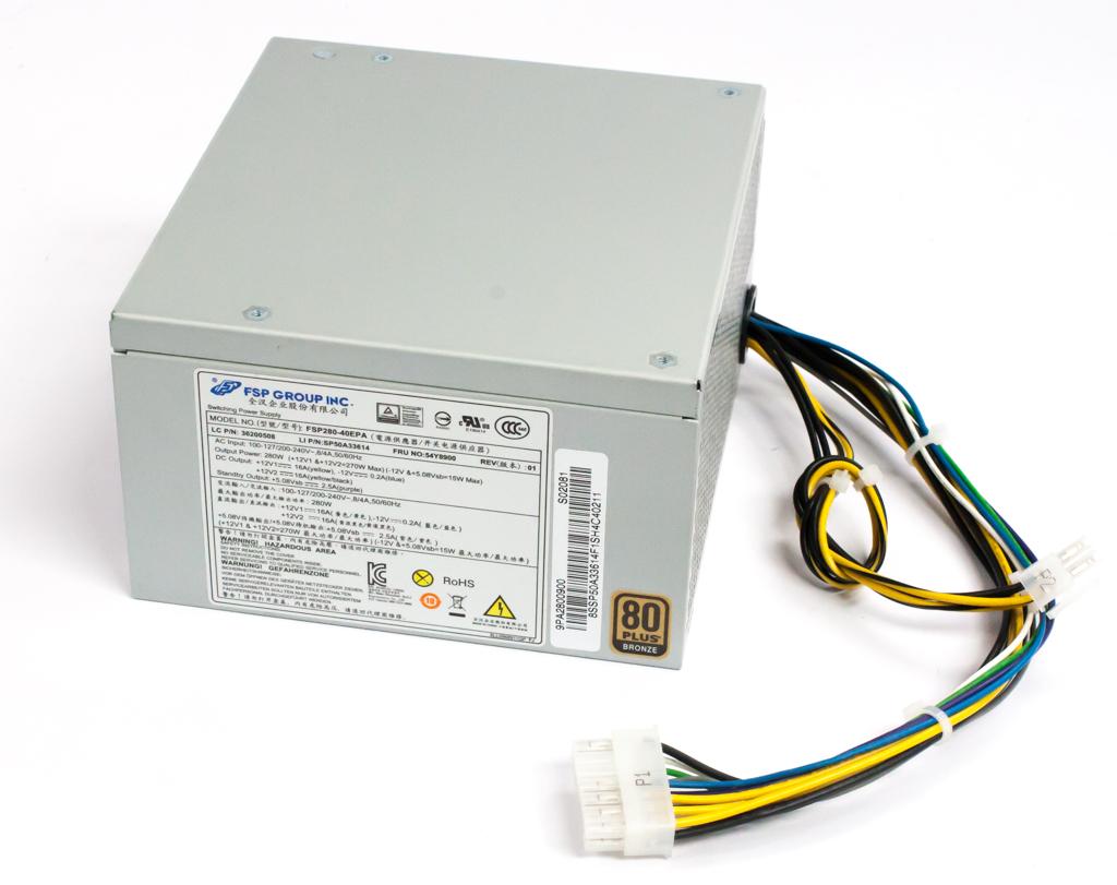 Lenovo 54Y8900 280 Watt 14 Pin Power Supply - FSP FSP280-40EPA