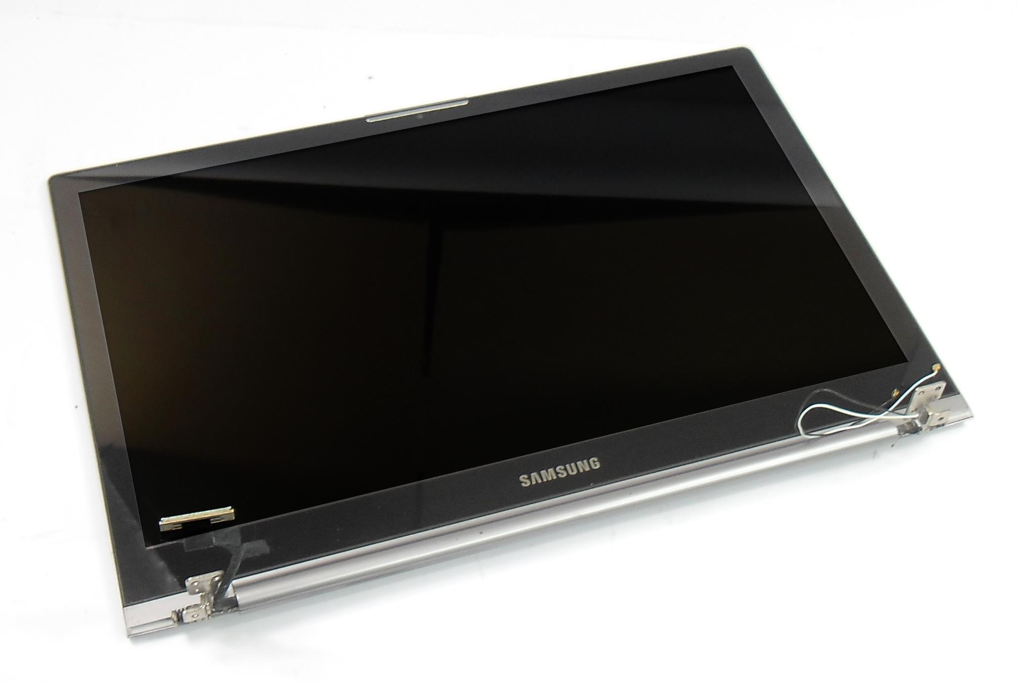 """Samsung NP780Z5E-T01UK 15.6"""" Complete Touchscreen Assembly LID,HINGES,CABLES"""