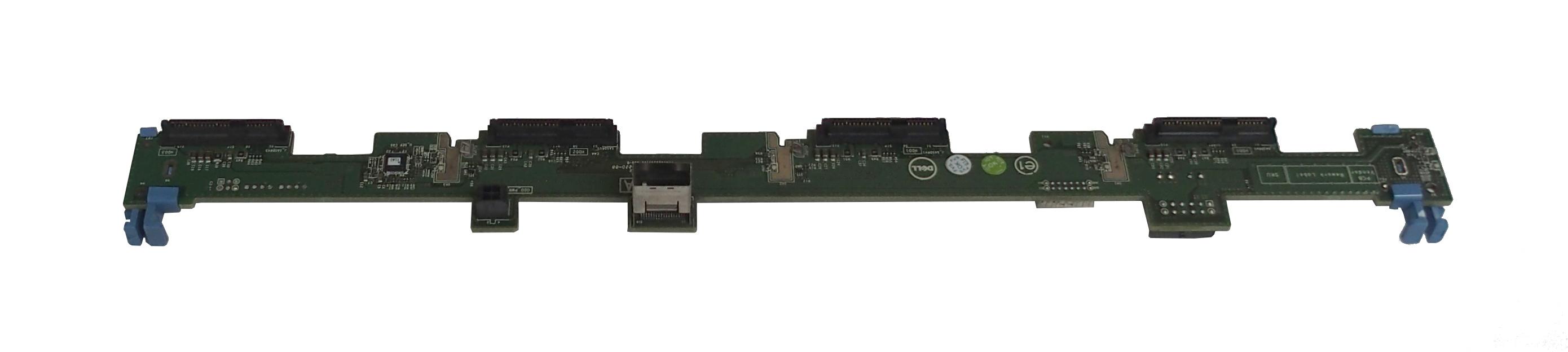 "Dell P7H13 SAS/SATA 4 x 3.5"" HDD Backplane Board For PowerEdge R320/R420 Server"