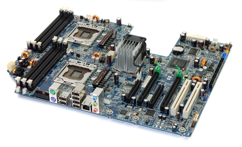 HP 591184-001 Dual Intel Socket LGA1366 Motherboard 460840-003 f/ Z600 W/S