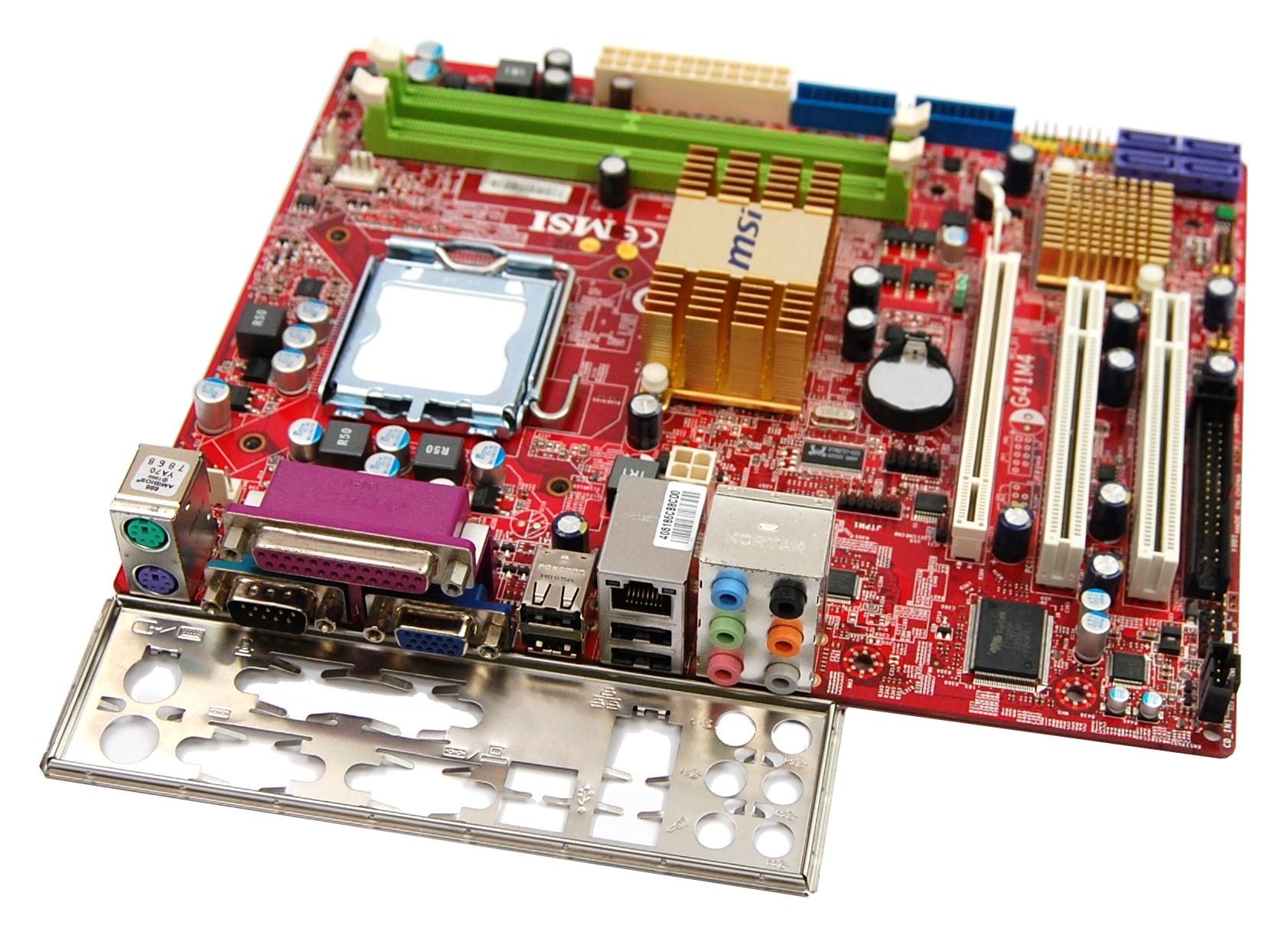 MSI G41M4 Socket LGA775 Motherboard - MS-7592 Ver.:1.0