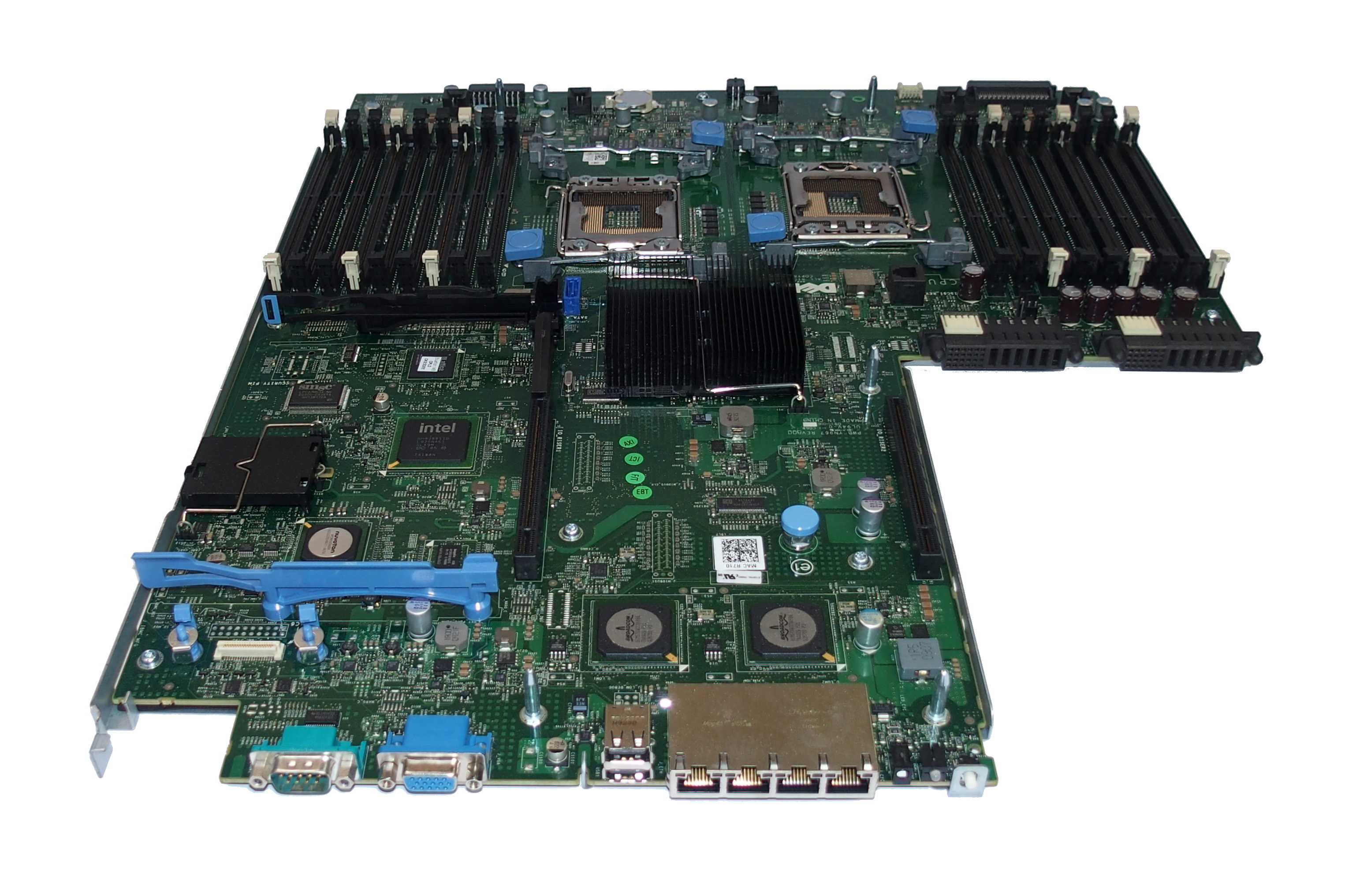 Dell PV9DG Dual Socket FCLGA 1366 Motherboard For PowerEdge R710 Server