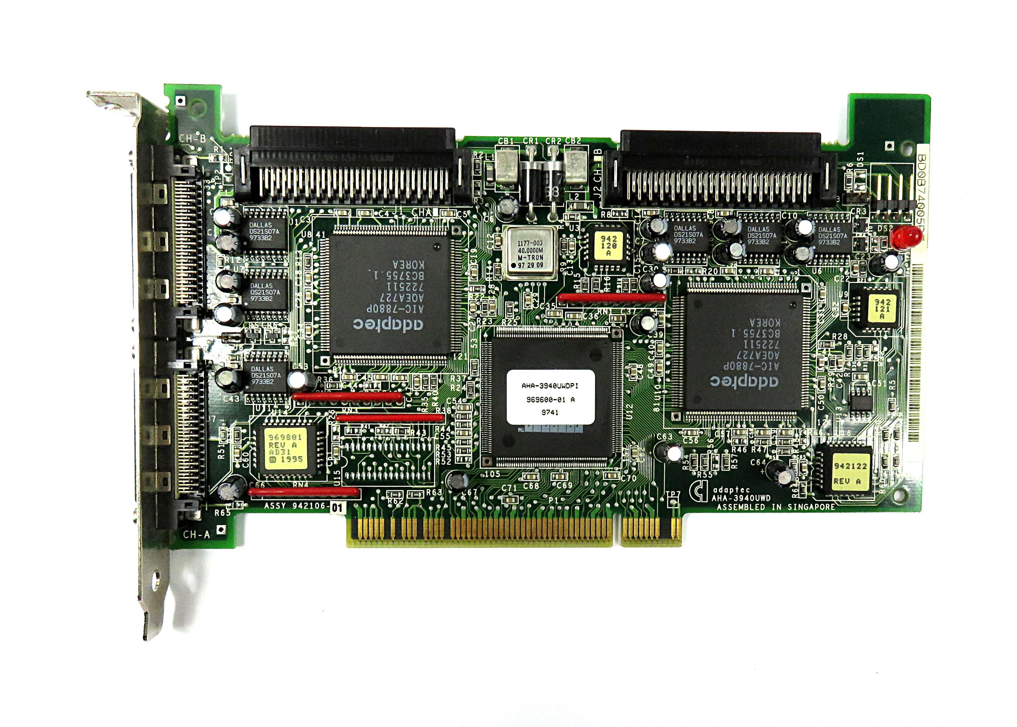 Adaptec AHA-3940UWD Dual-Channel Ultra-Wide SCSI PCI Card