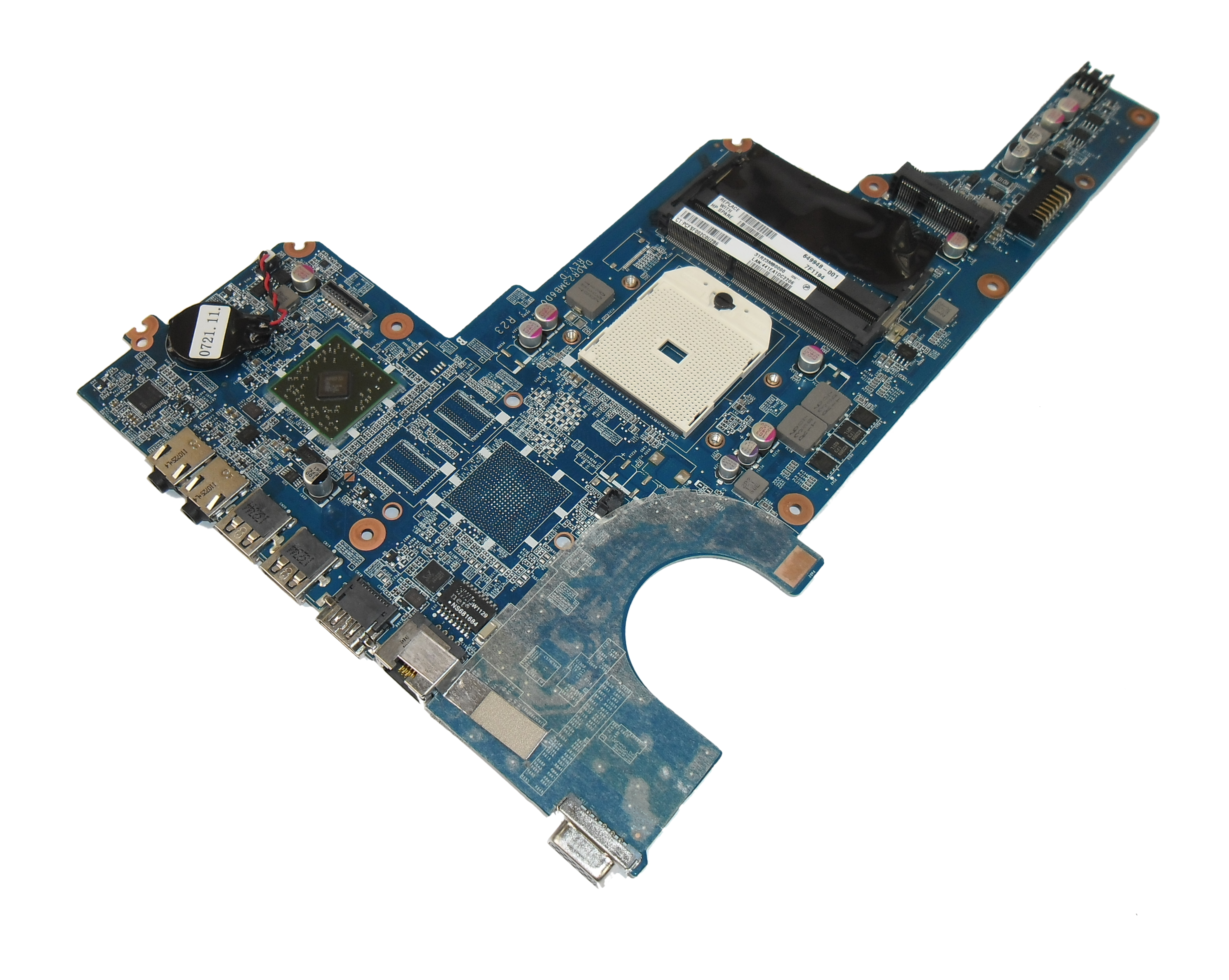 HP 649948-001 Pavilion G6 Socket S1 Laptop Motherboard