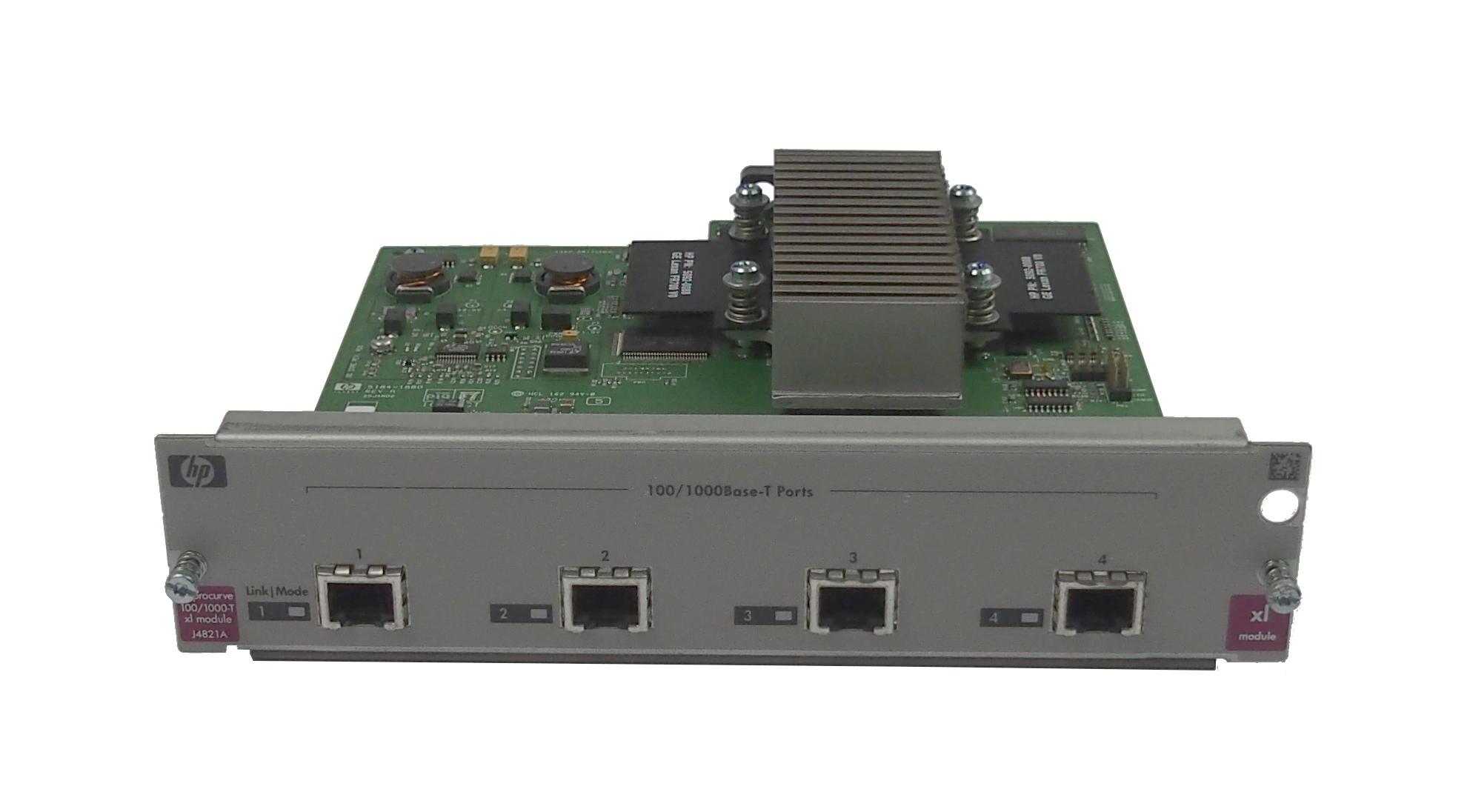 HP J4821A Procurve 100/1000-T xl Module- 5064-9935