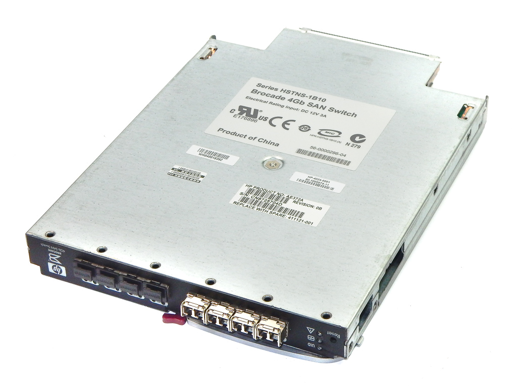 HP Brocade 411121-001 AE372A 4Gb SAN Switch For c-Class Blade System