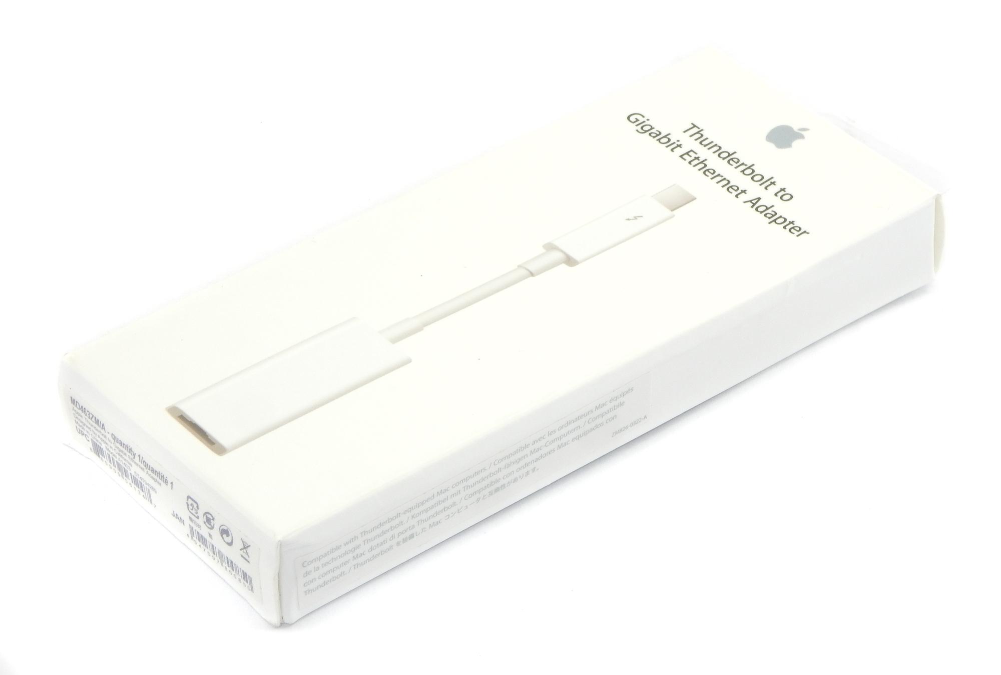 Genuine A1433 Apple Thunderbolt To Gigabit Ethernet Adapter - MD463ZM/A