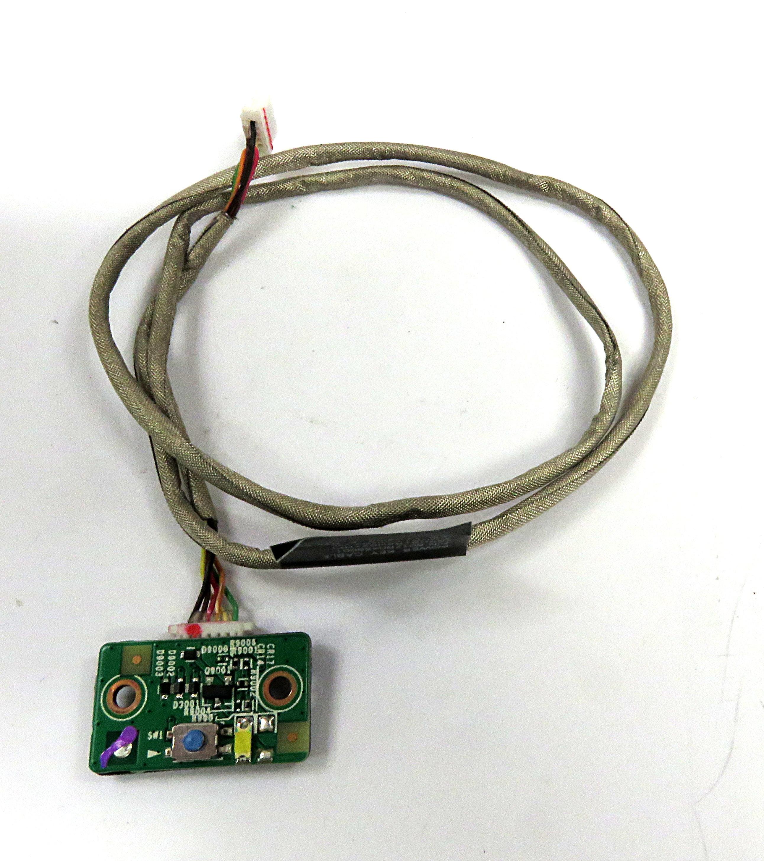 HP Power Button + Cable f/ Pavilion 22 AiO 22-h010ea 6017B0455101