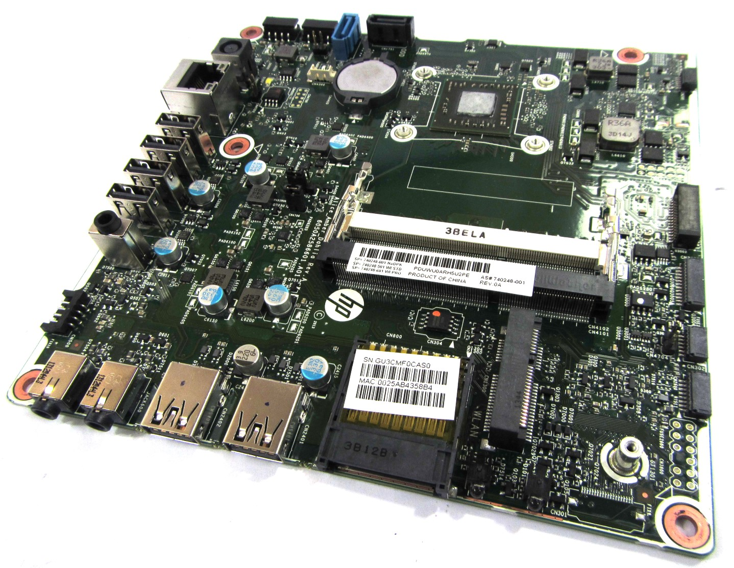 HP 740248-001 Motherboard f/ Pavilion 22 TouchSmart 22-h010ea w/ AMD A4-5000 APU