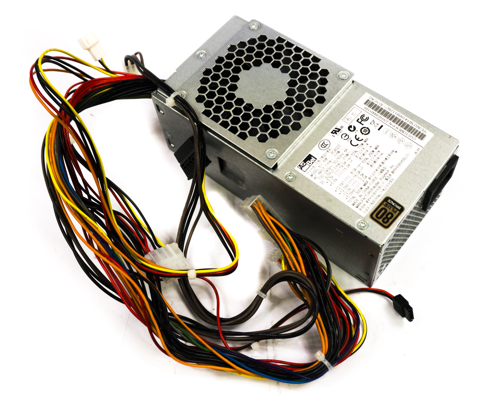 PCA023 Acbel 20/24-Pin SFF ATX 300W PC Power Supply